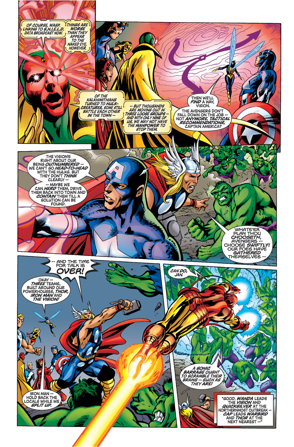 Read online Avengers (1998) comic -  Issue #39 - 3