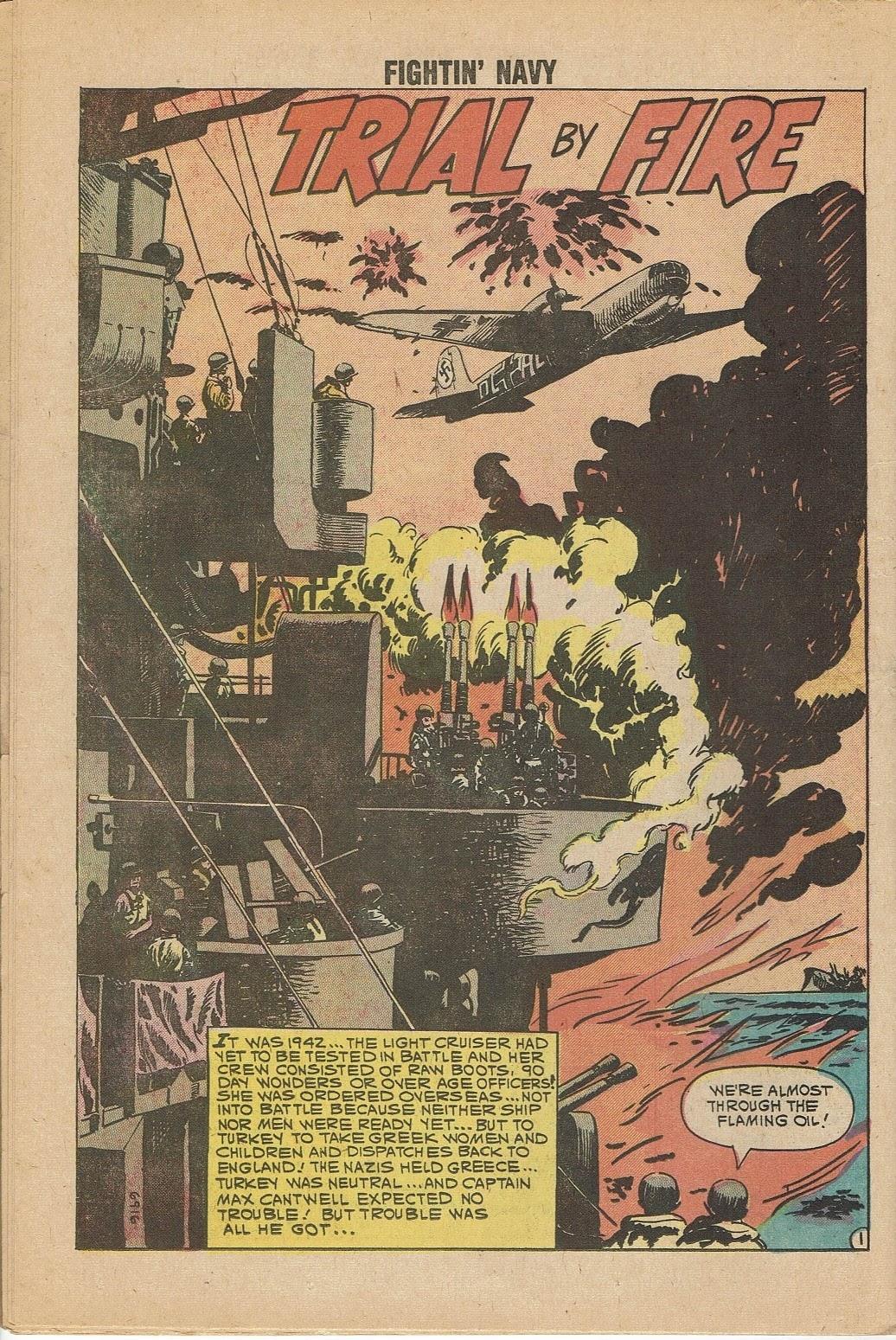 Read online Fightin' Navy comic -  Issue #95 - 26