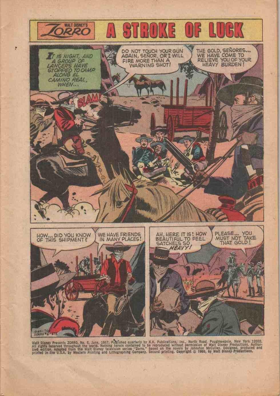 Zorro (1966) issue 6 - Page 3