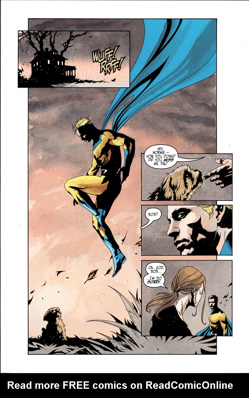 Read online Sentry (2000) comic -  Issue #5 - 11
