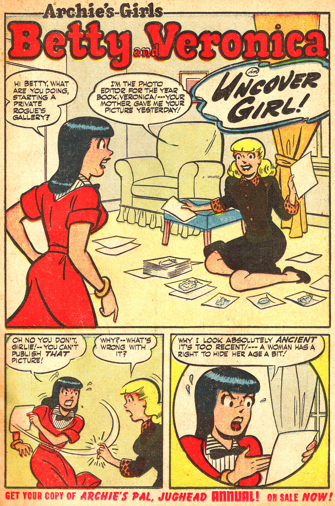 Read online Archie's Girls Betty and Veronica comic -  Issue #Archie's Girls Betty and Veronica Annual 1 - 3