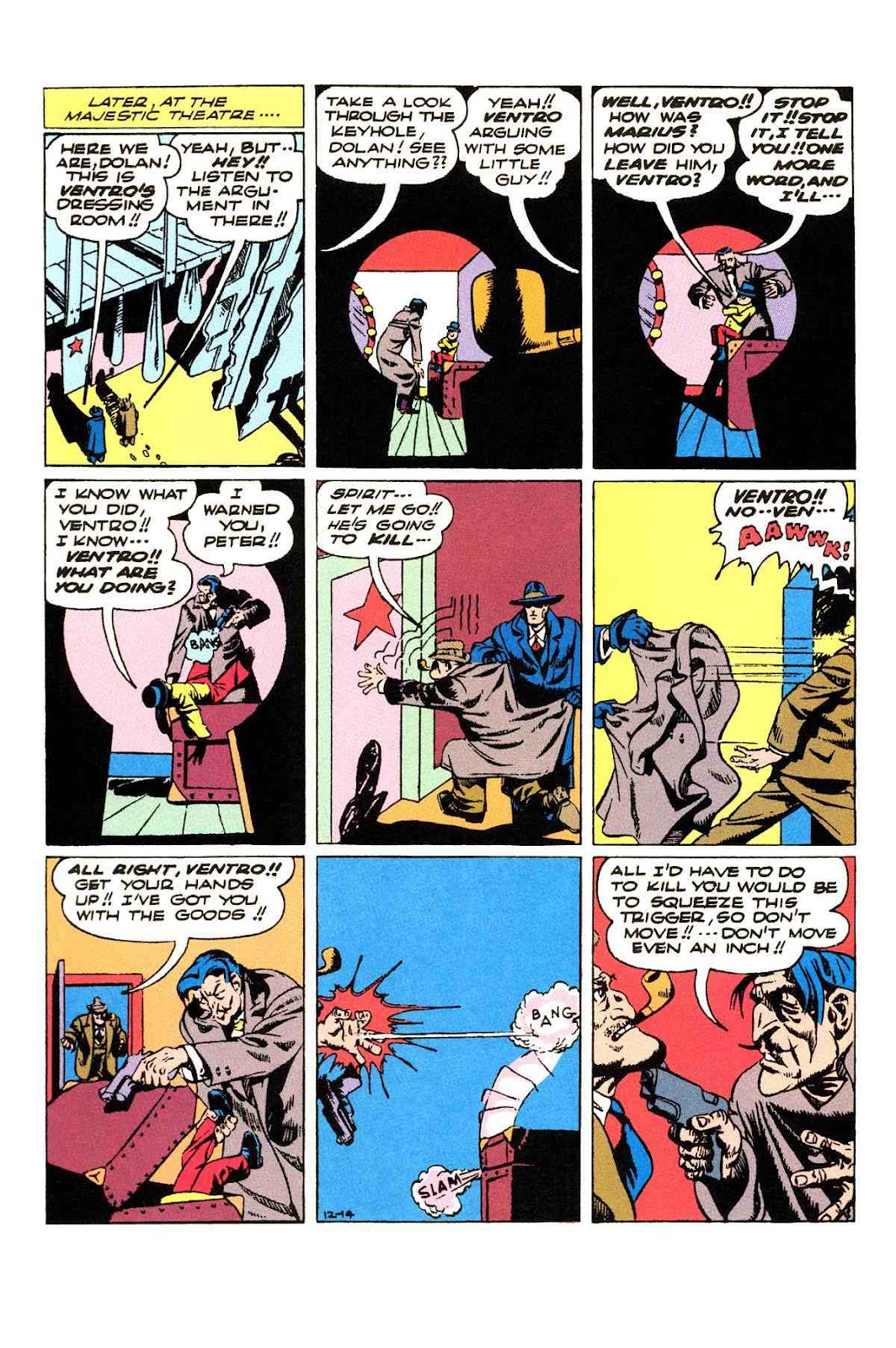 Read online Will Eisner's The Spirit Archives comic -  Issue # TPB 3 (Part 2) - 89