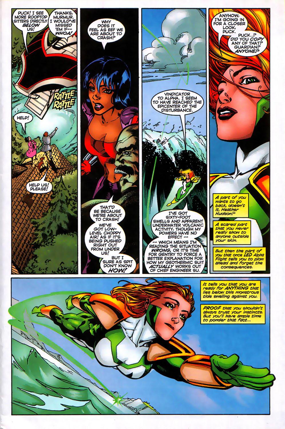Read online Alpha Flight (1997) comic -  Issue # _Annual - 8