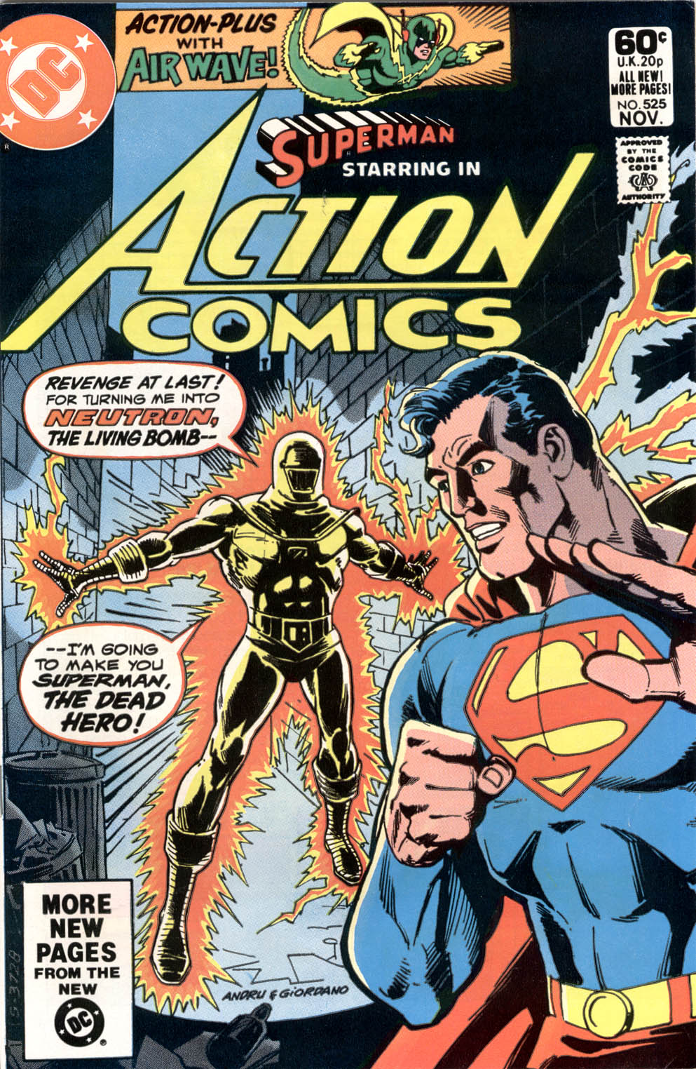 Action Comics (1938) 525 Page 0
