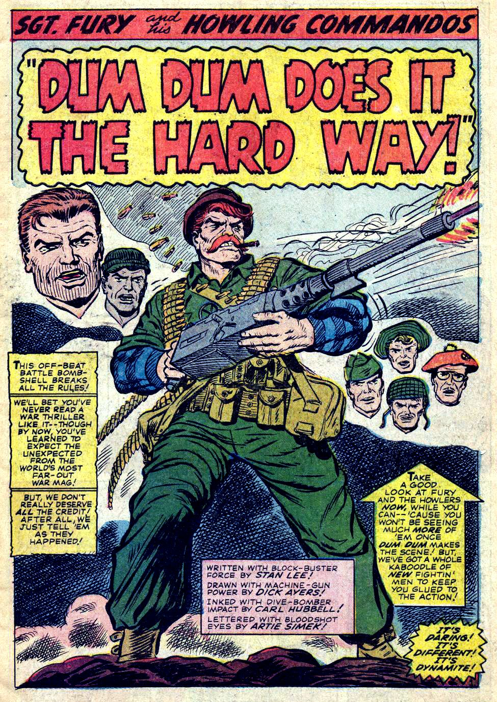 Read online Sgt. Fury comic -  Issue #26 - 3