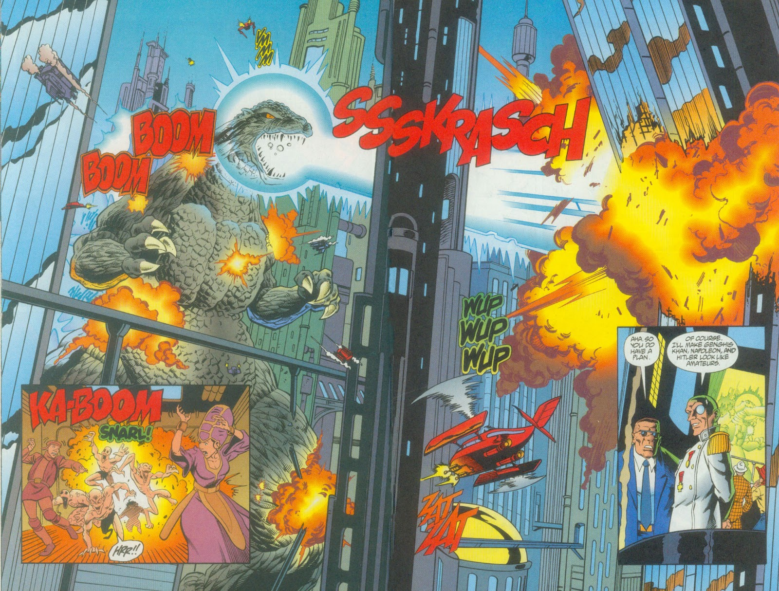 Godzilla (1995) Issue #12 #13 - English 15