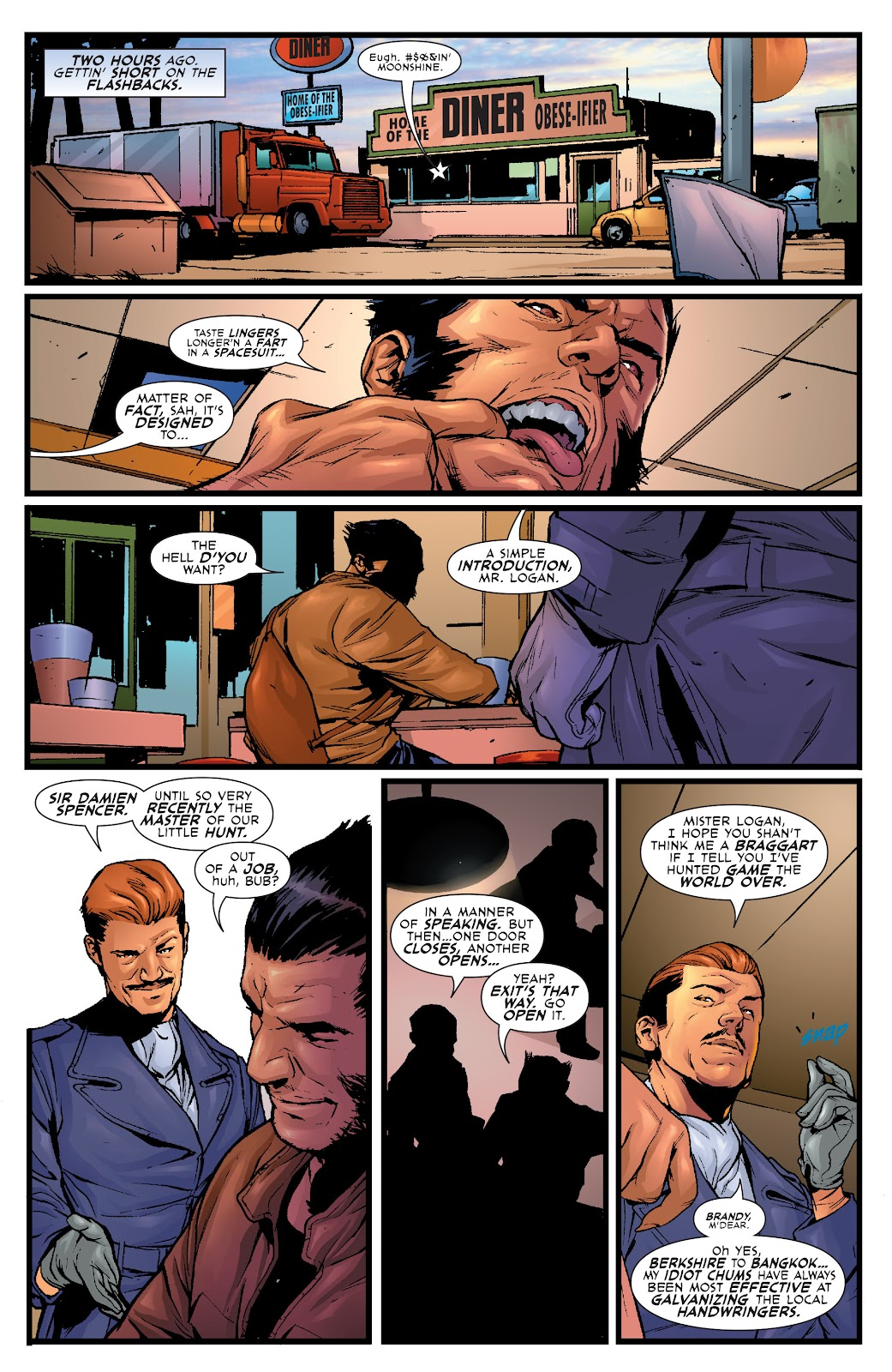Wolverine: Dangerous Games issue Full - Page 15