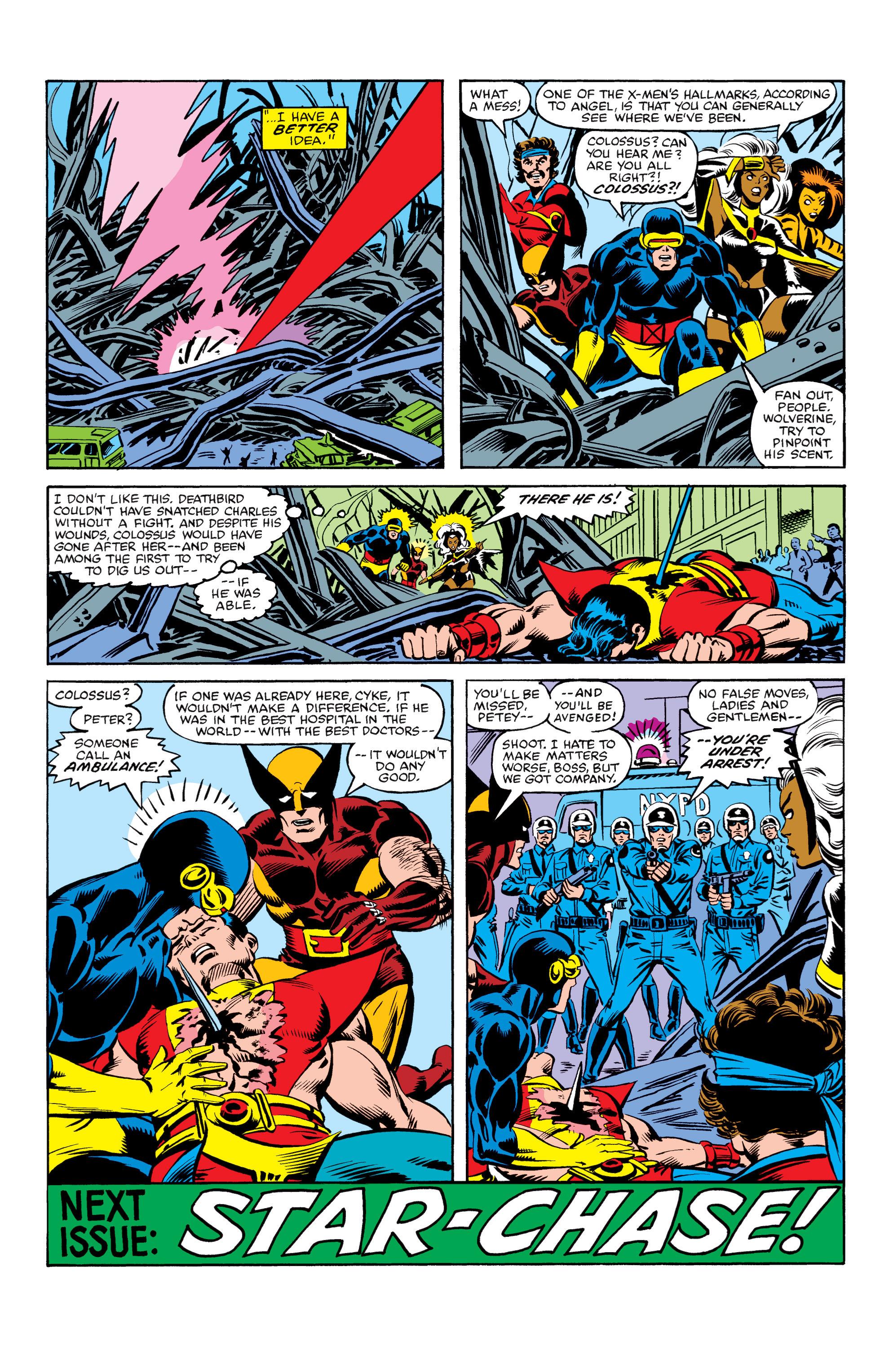 Read online Uncanny X-Men (1963) comic -  Issue #155 - 24