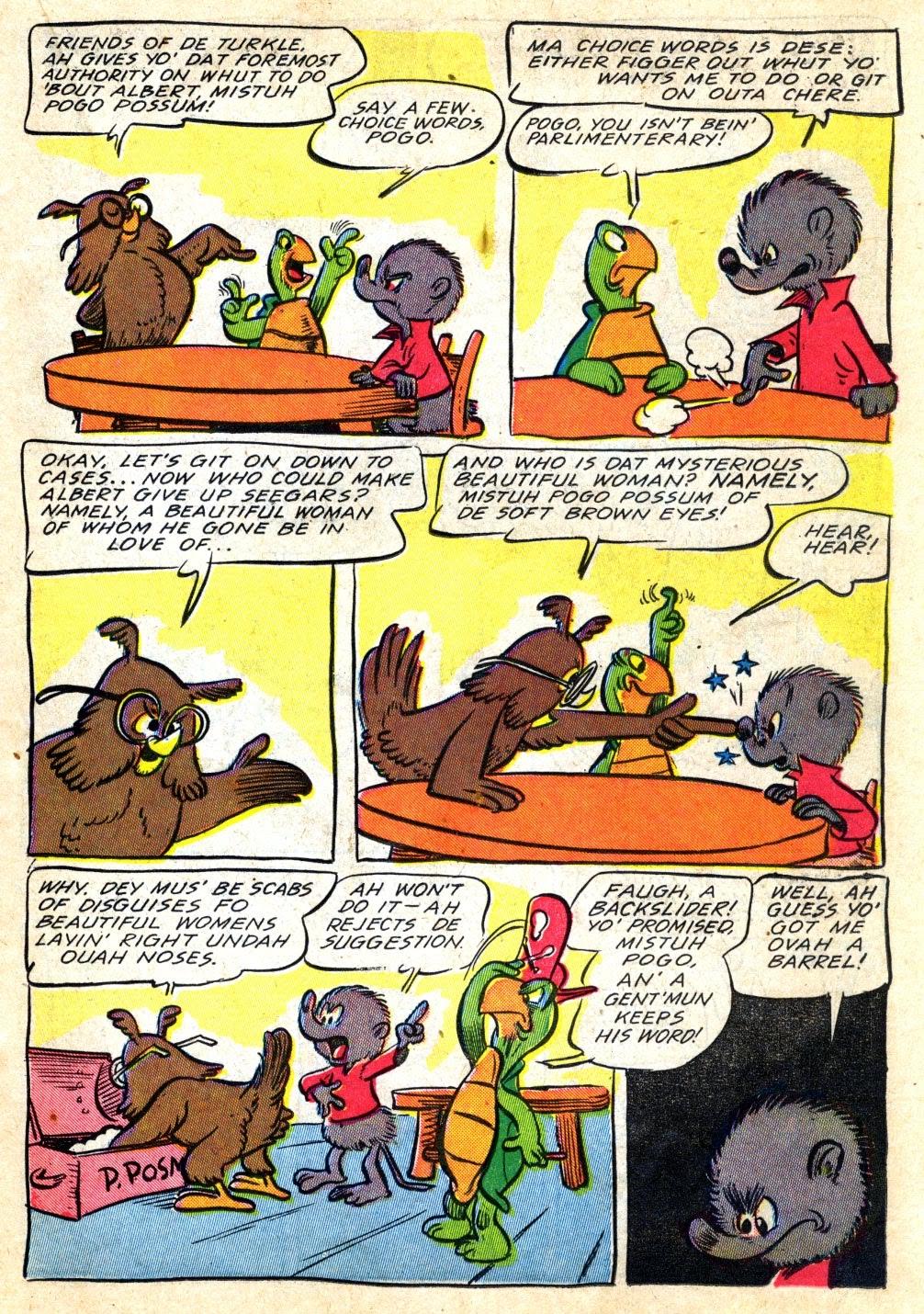 Read online Animal Comics comic -  Issue #22 - 17