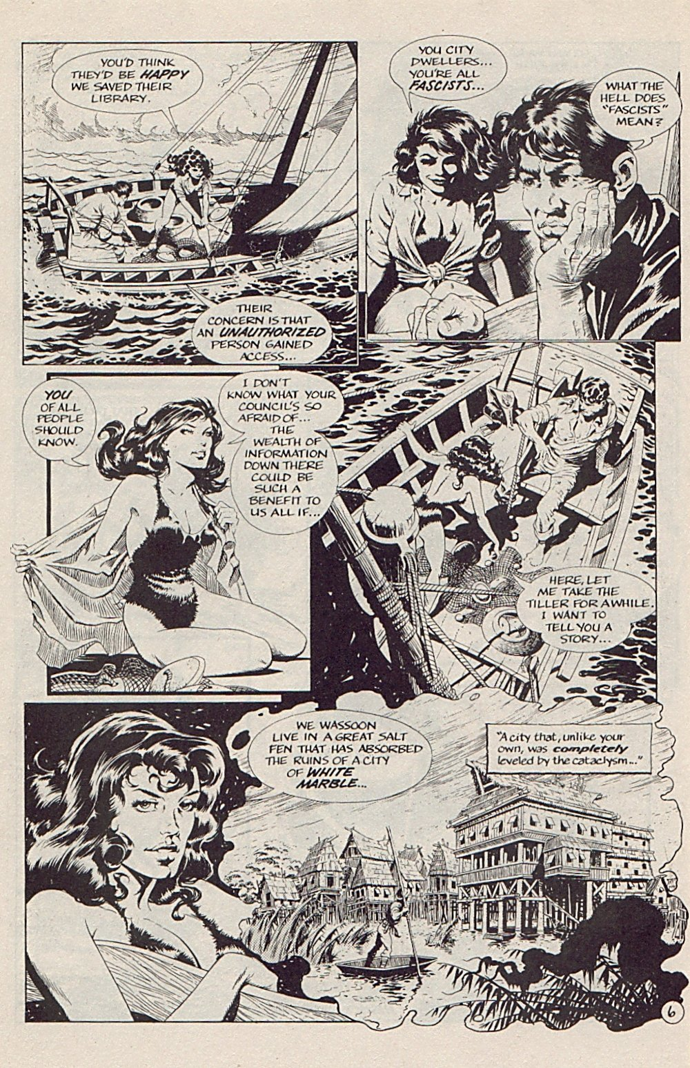 Read online Xenozoic Tales comic -  Issue #5 - 9