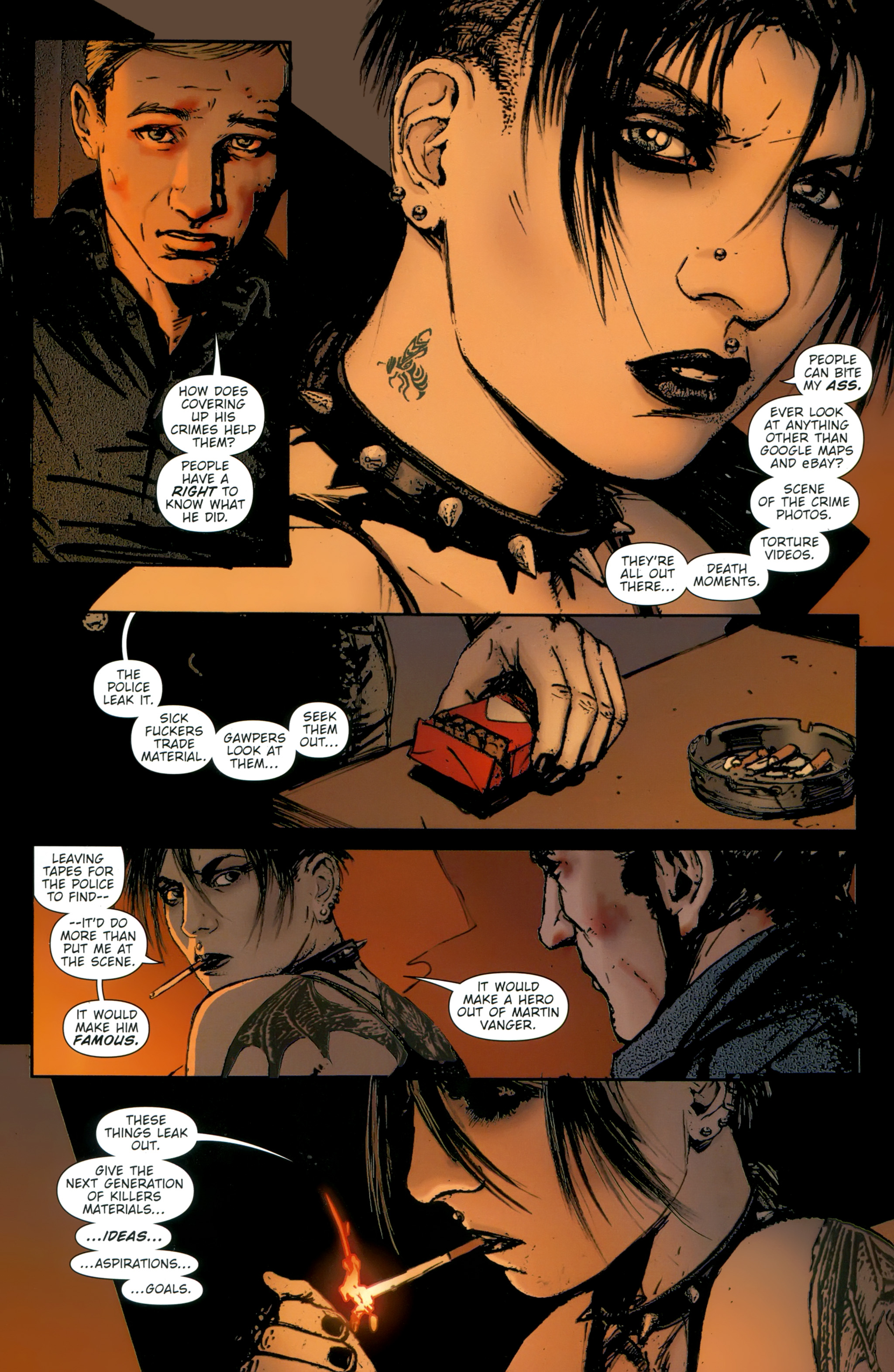 Read online The Girl With the Dragon Tattoo comic -  Issue # TPB 2 - 116