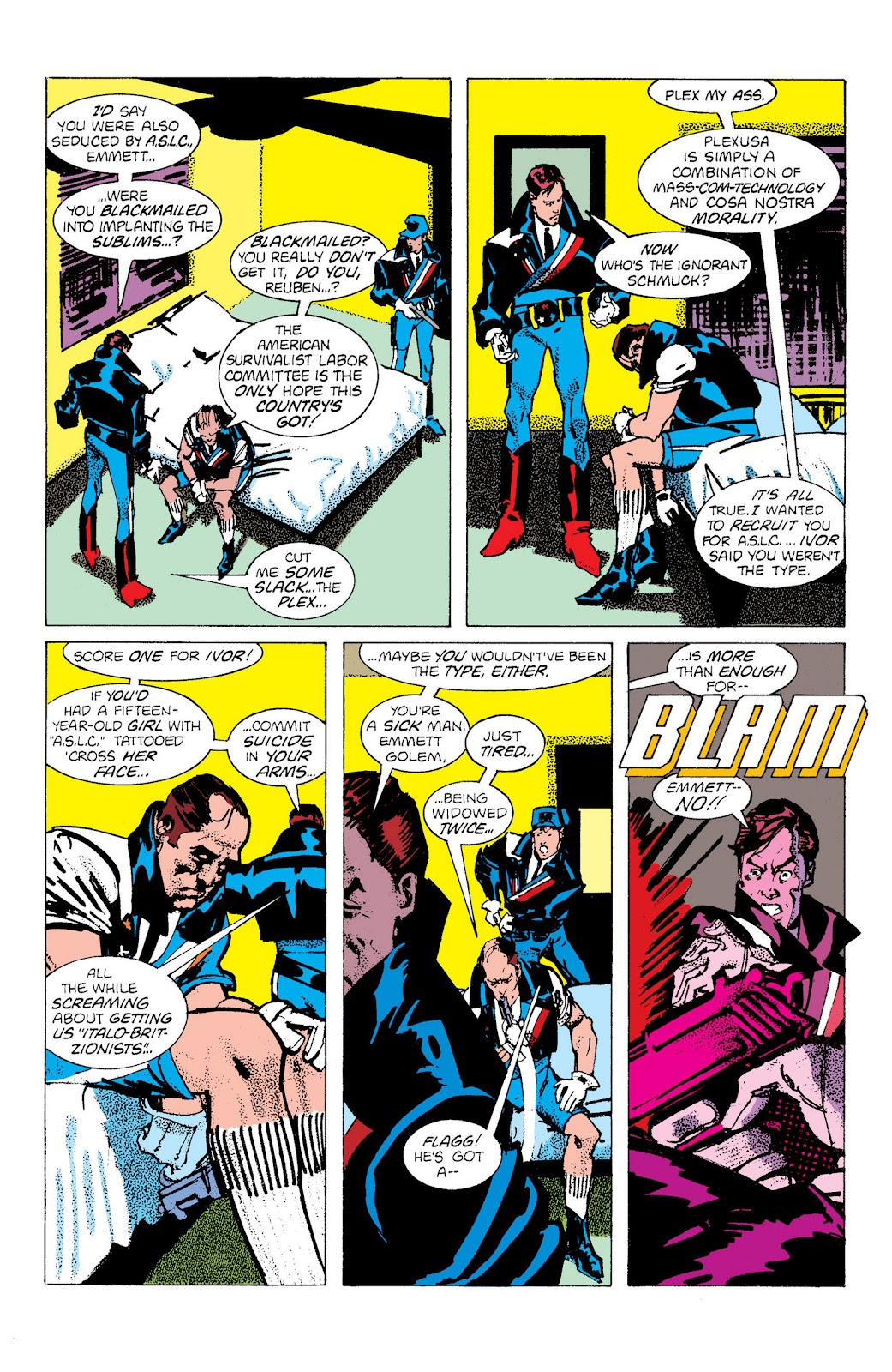 American Flagg! issue Definitive Collection (Part 3) - Page 1