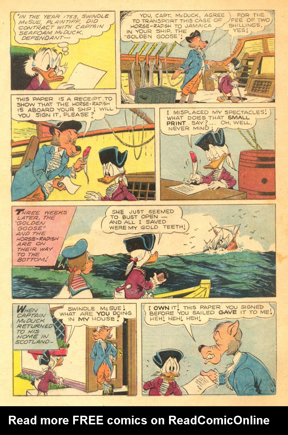 Read online Uncle Scrooge (1953) comic -  Issue #3 - 4