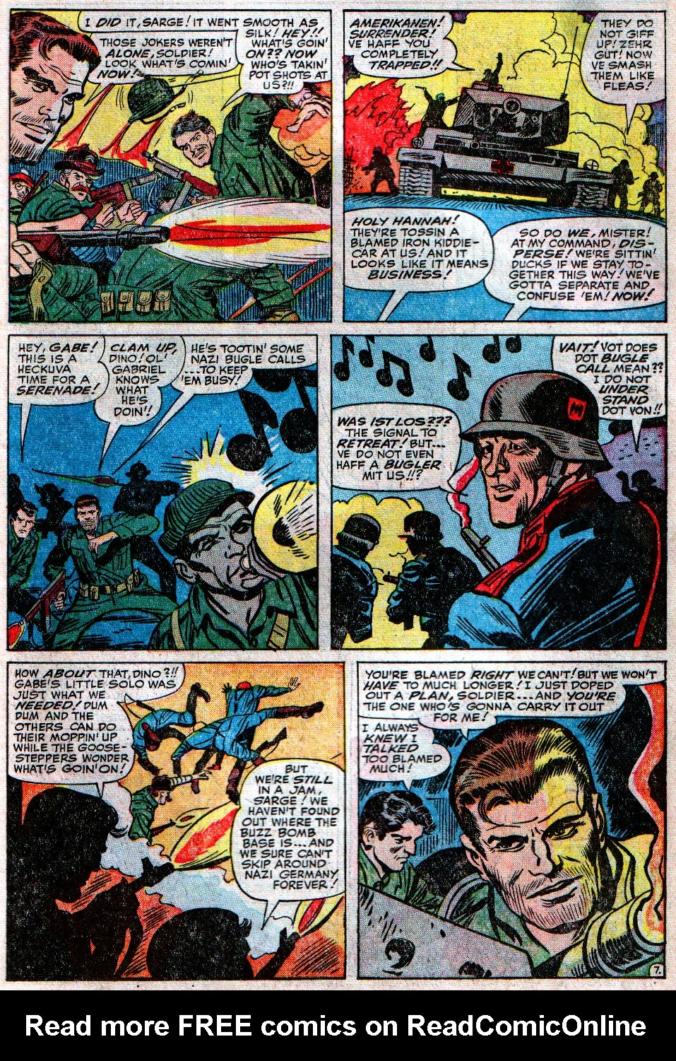 Read online Sgt. Fury comic -  Issue #12 - 11