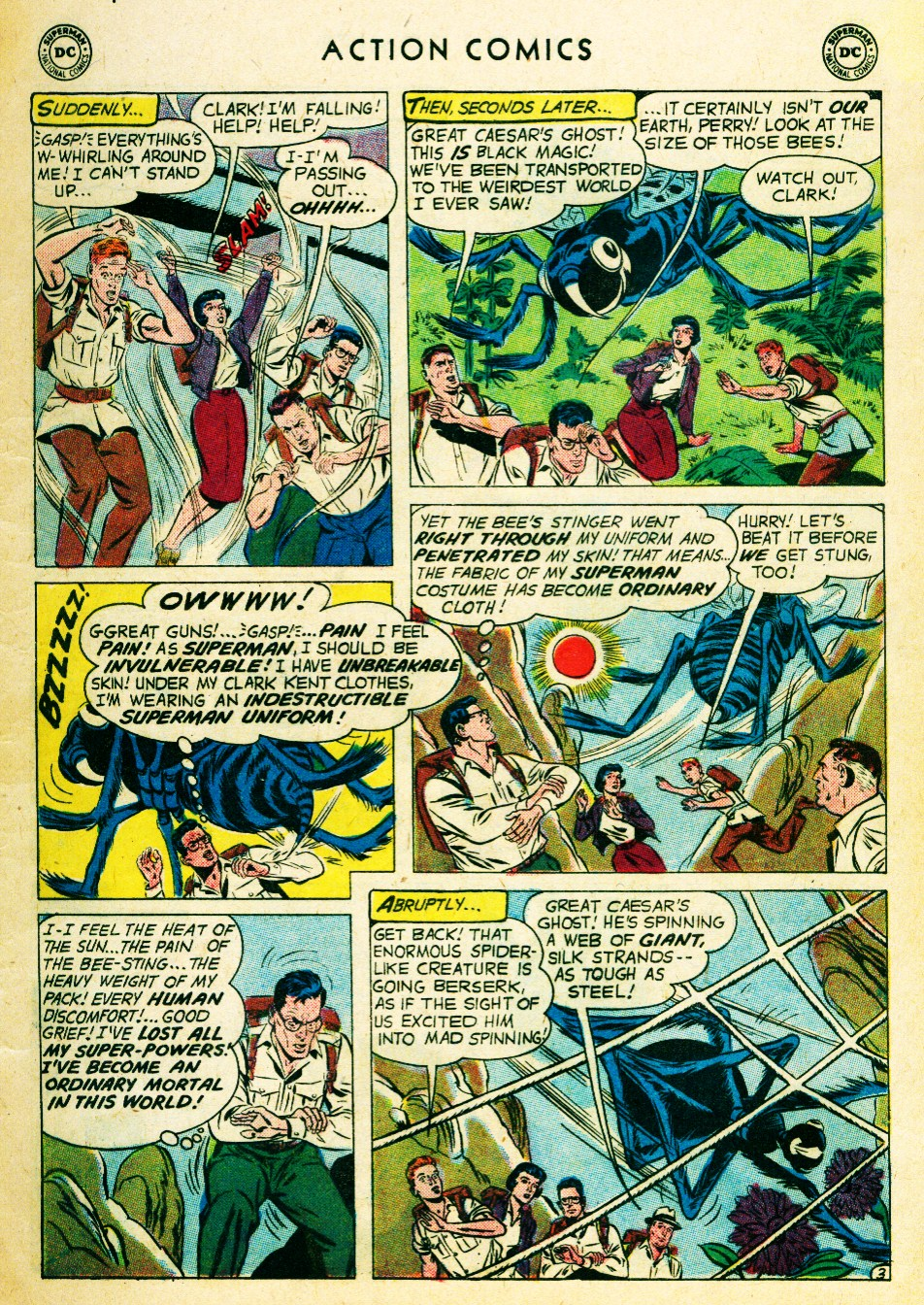 Read online Action Comics (1938) comic -  Issue #262 - 5