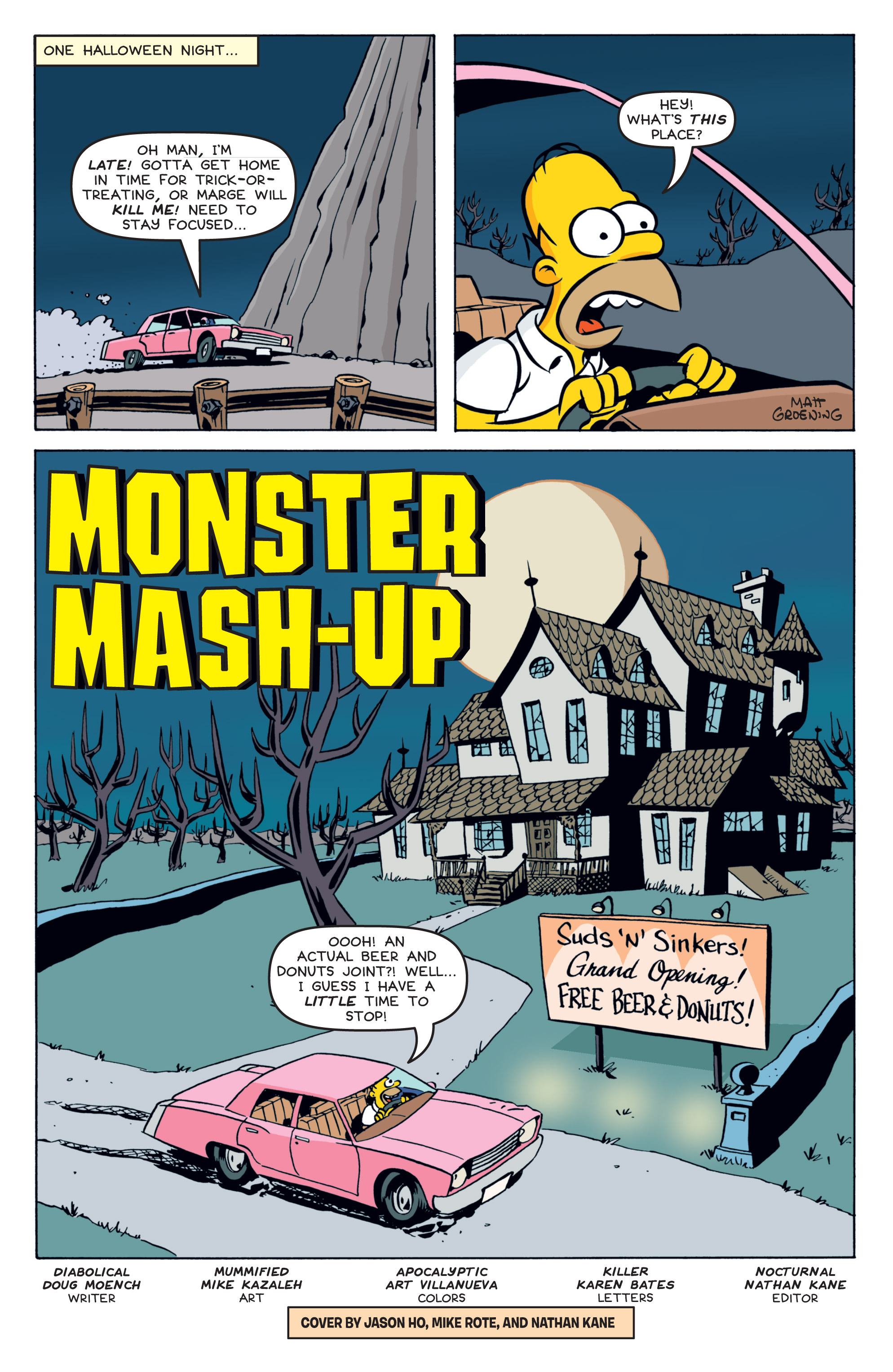 Read online Treehouse of Horror comic -  Issue #19 - 3