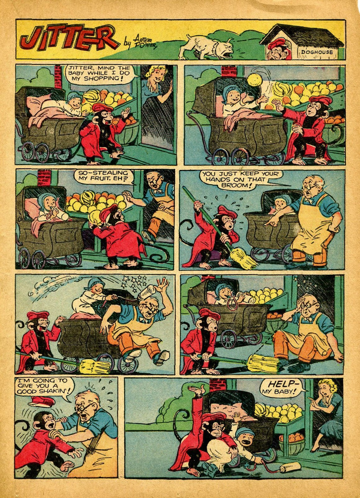 Read online Famous Funnies comic -  Issue #84 - 21