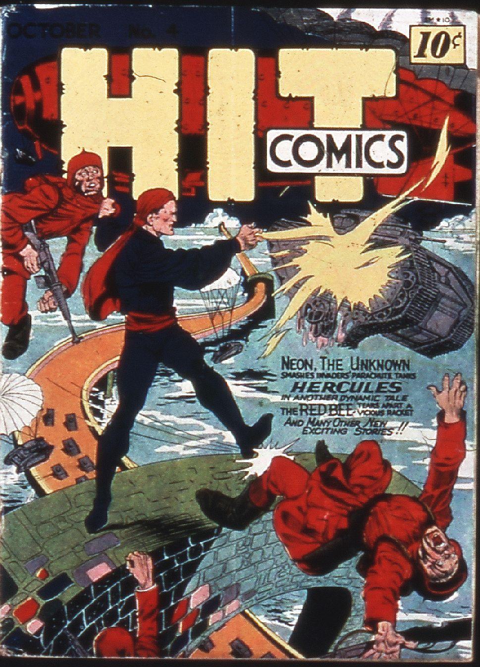 Read online Hit Comics comic -  Issue #4 - 1