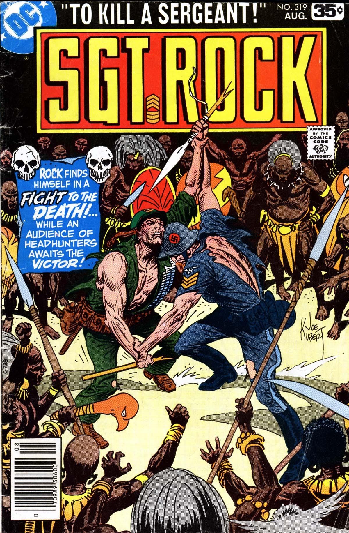 Read online Sgt. Rock comic -  Issue #319 - 1