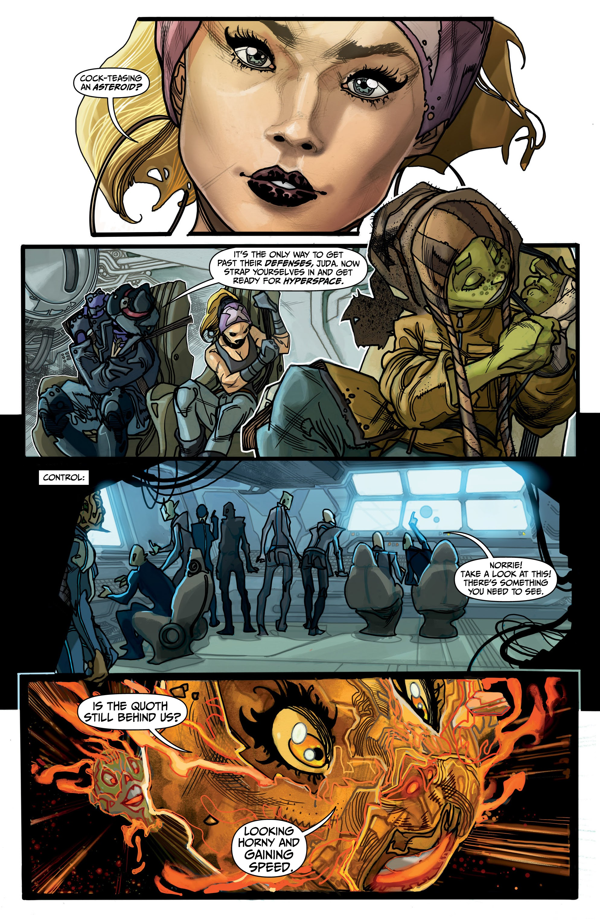 Sharkey the Bounty Hunter 5 Page 13
