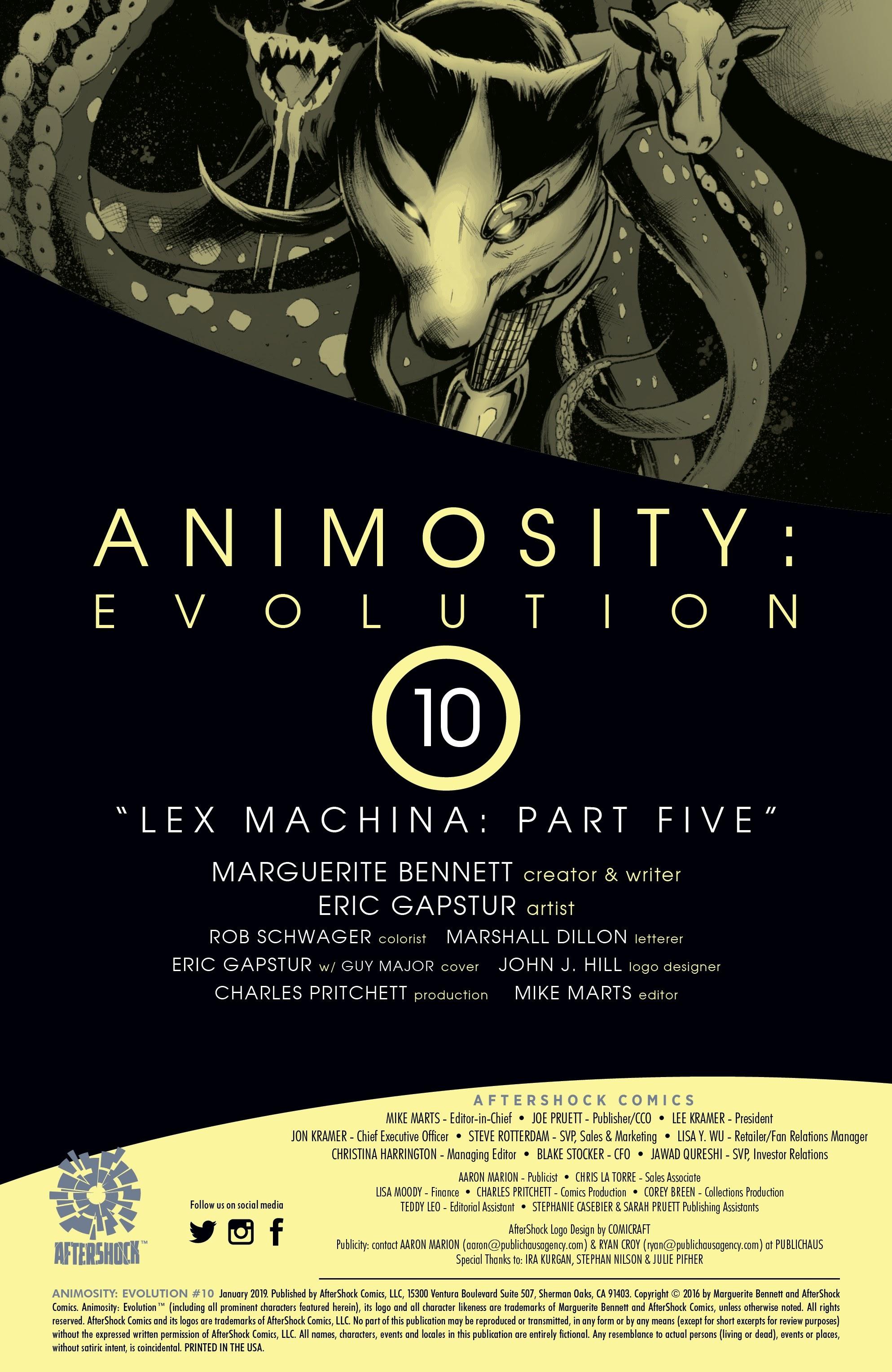 Animosity: Evolution #10 #10 - English 2