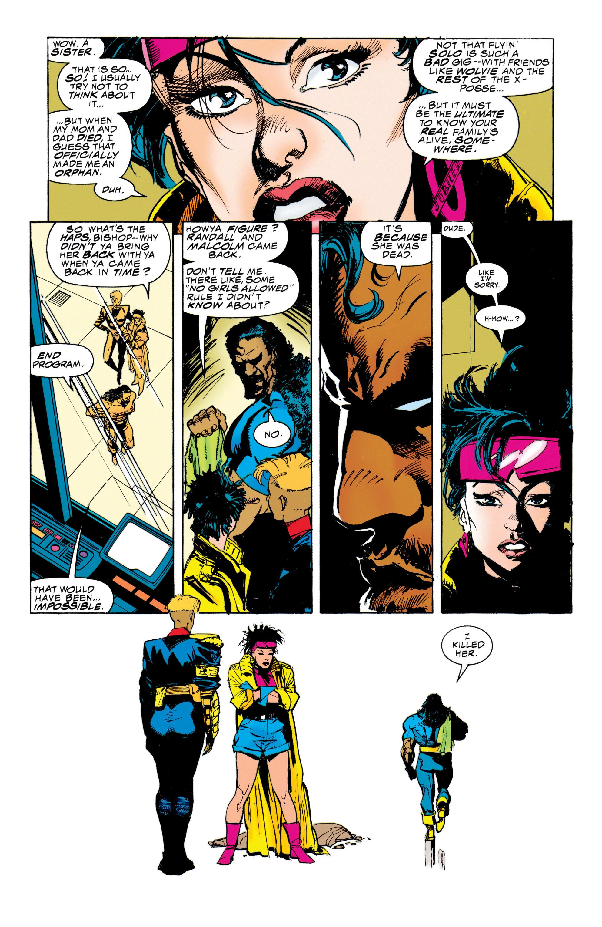 Read online Uncanny X-Men (1963) comic -  Issue #314 - 11