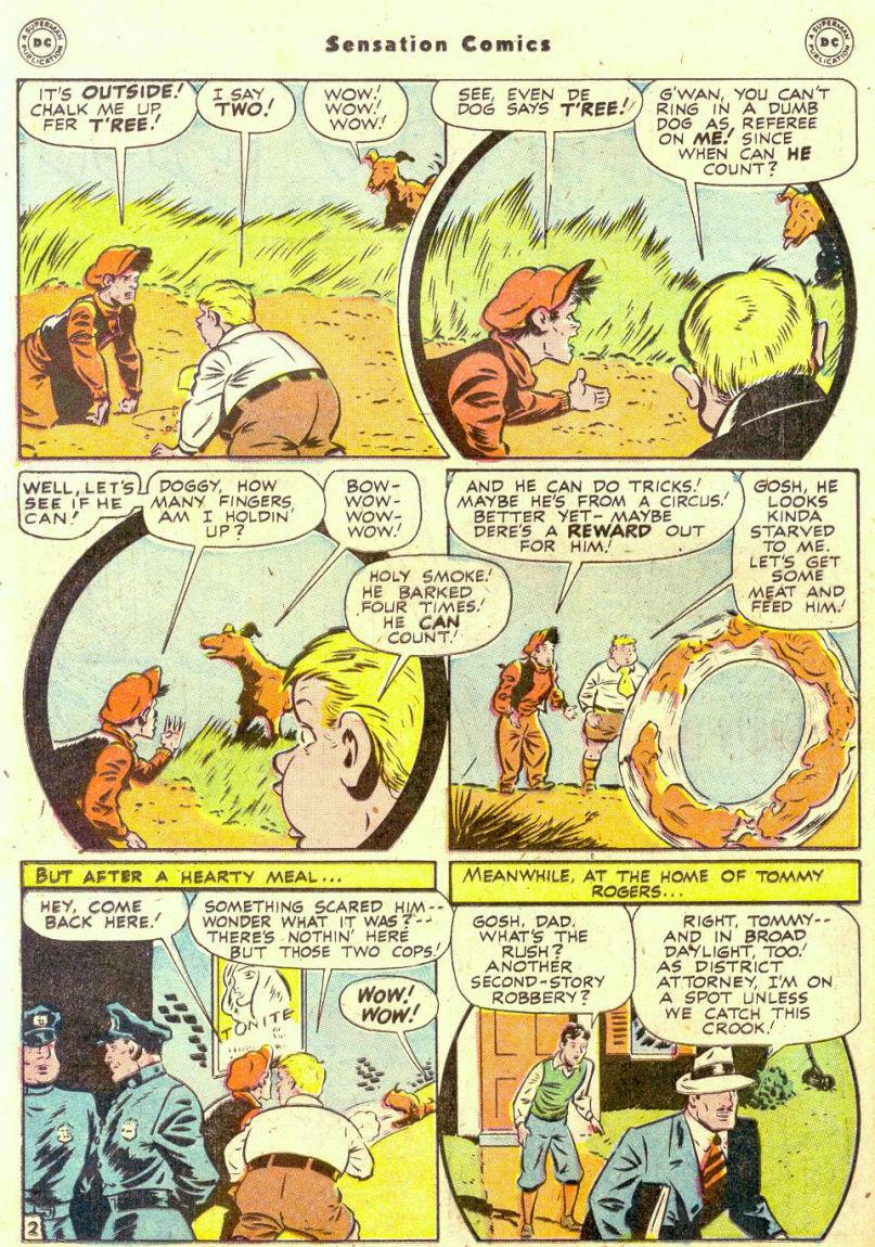 Read online Sensation (Mystery) Comics comic -  Issue #74 - 18