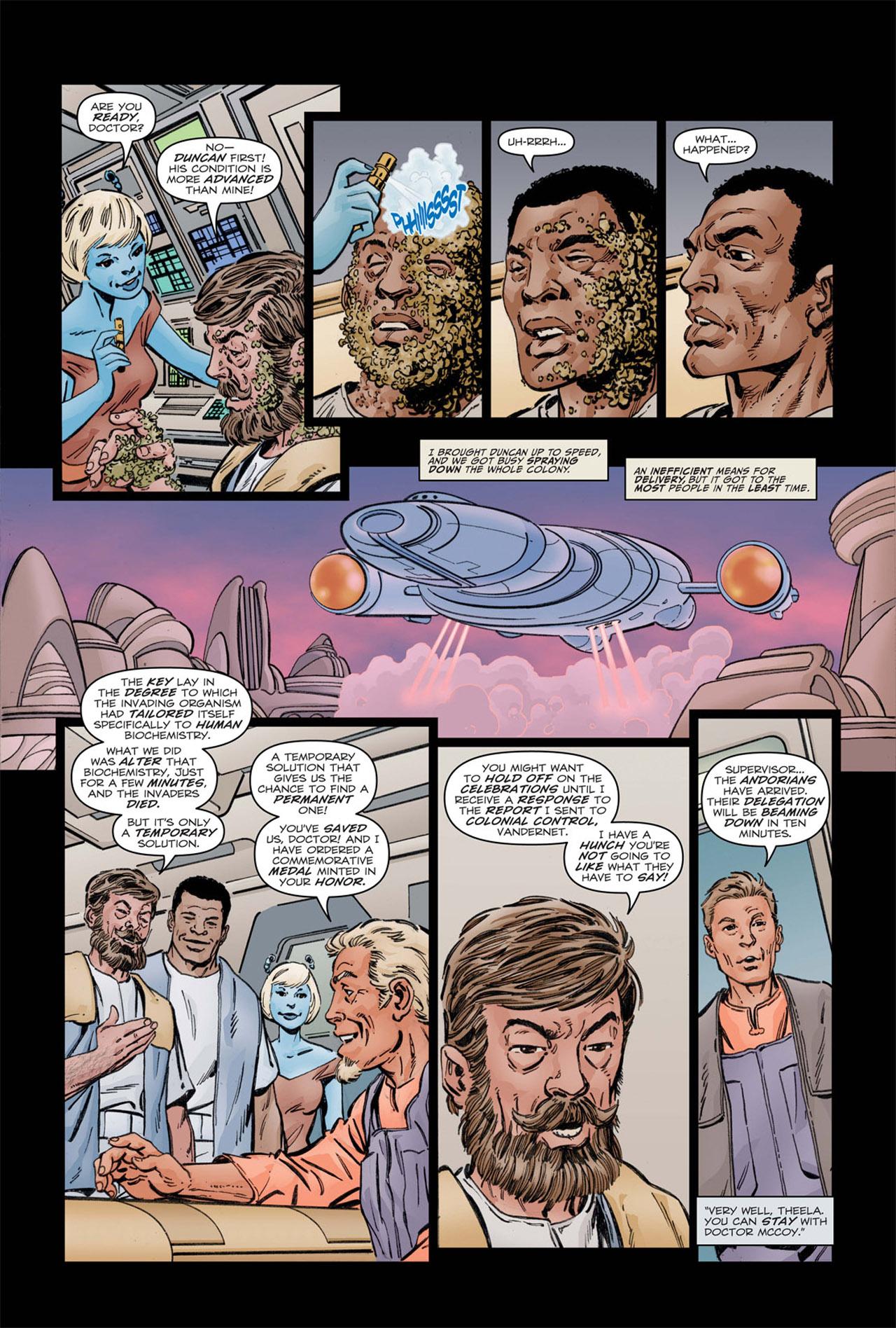 Read online Star Trek: Leonard McCoy, Frontier Doctor comic -  Issue #1 - 23