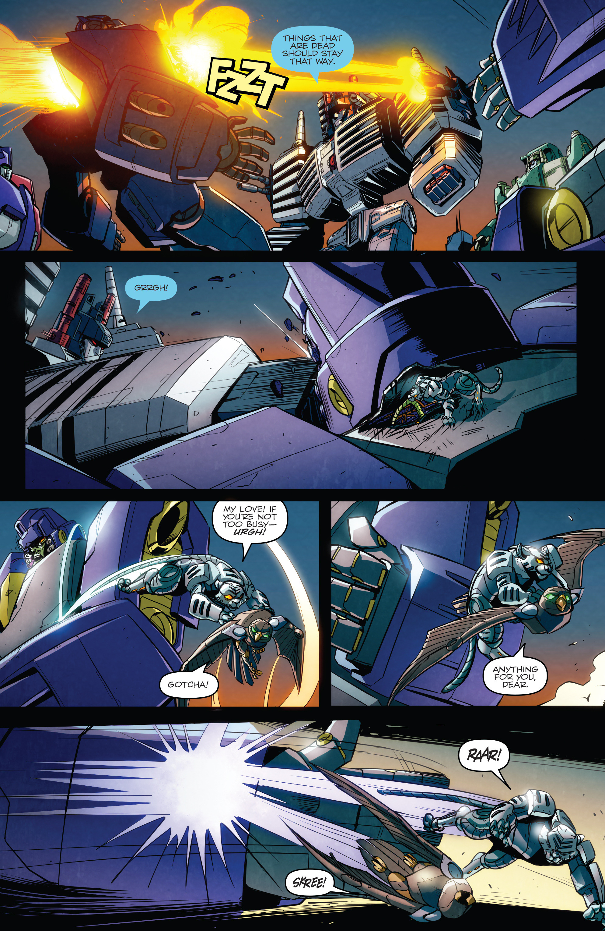 Read online Transformers: Till All Are One comic -  Issue #6 - 9