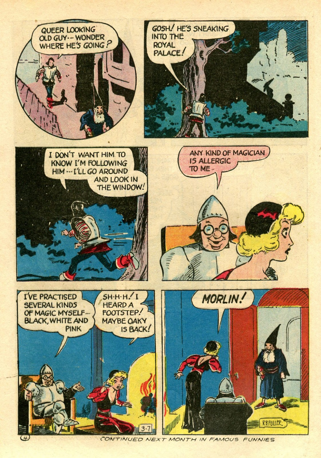 Read online Famous Funnies comic -  Issue #106 - 46