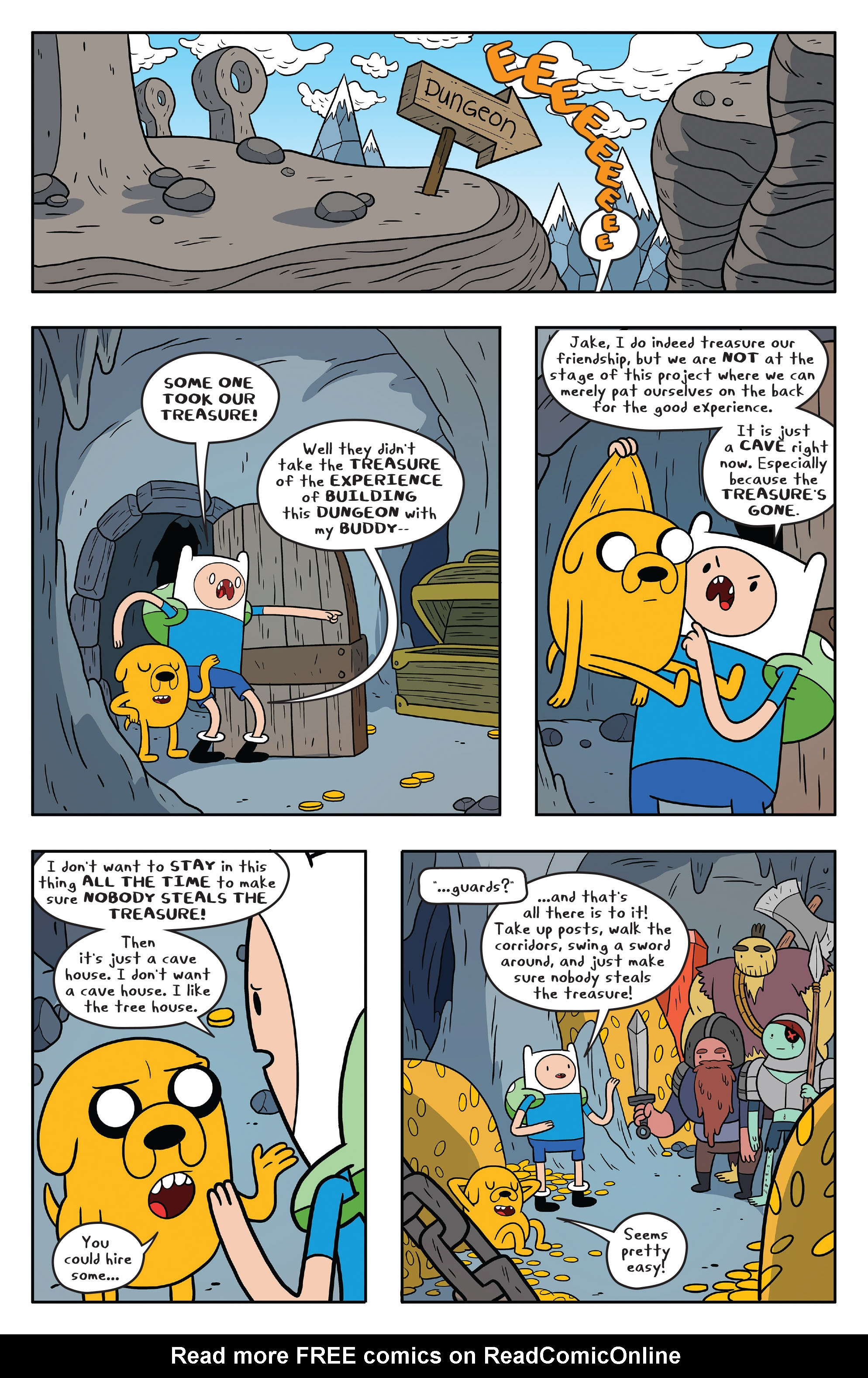 Read online Adventure Time comic -  Issue #58 - 17