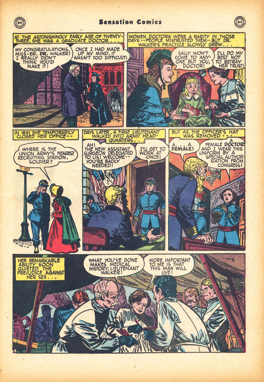Read online Sensation (Mystery) Comics comic -  Issue #78 - 35