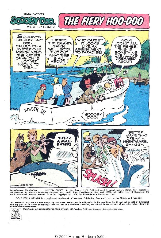 Read online Scooby-Doo... Mystery Comics comic -  Issue #20 - 3