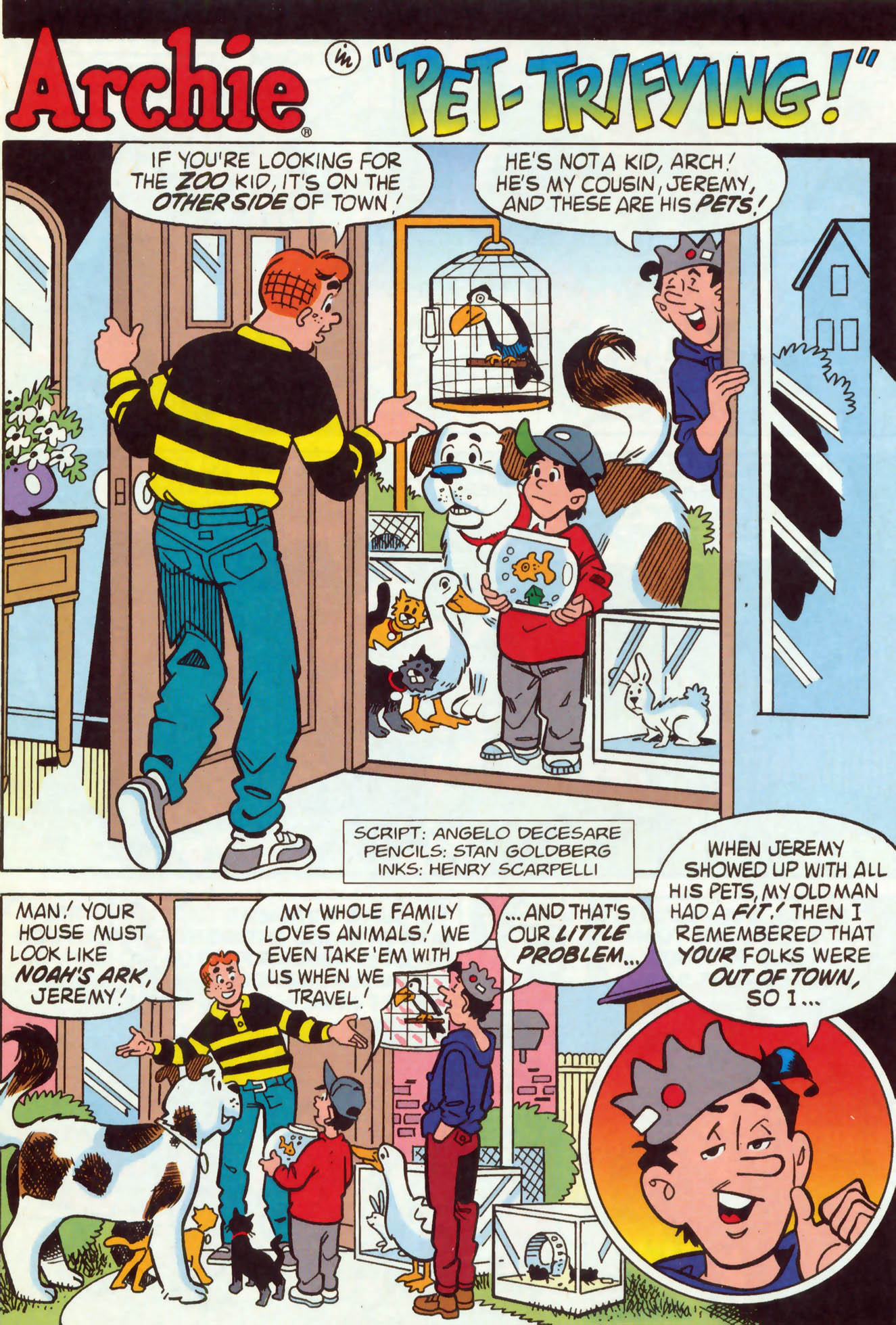 Read online Archie (1960) comic -  Issue #465 - 9
