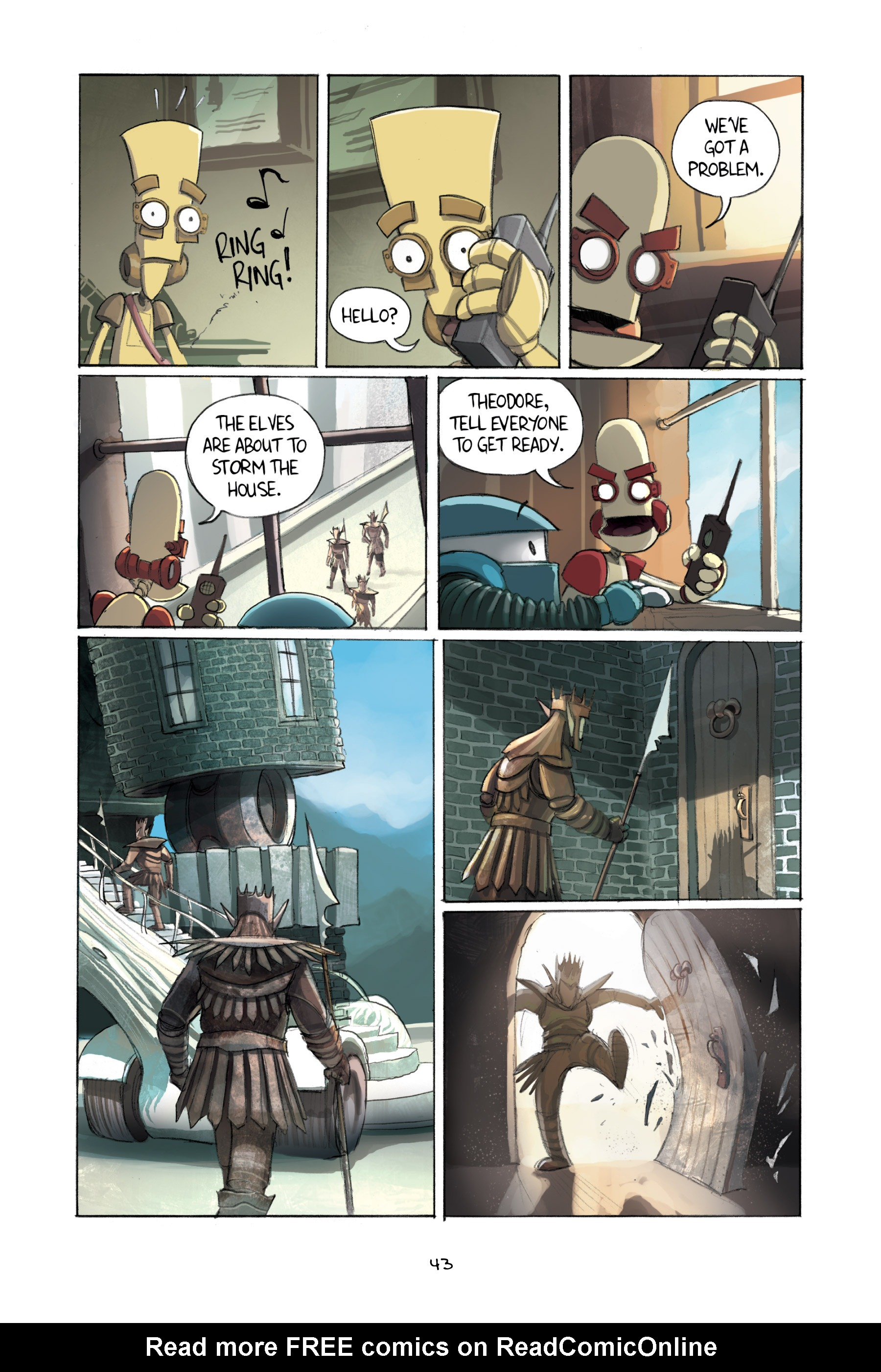 Read online Amulet comic -  Issue #2 - 45