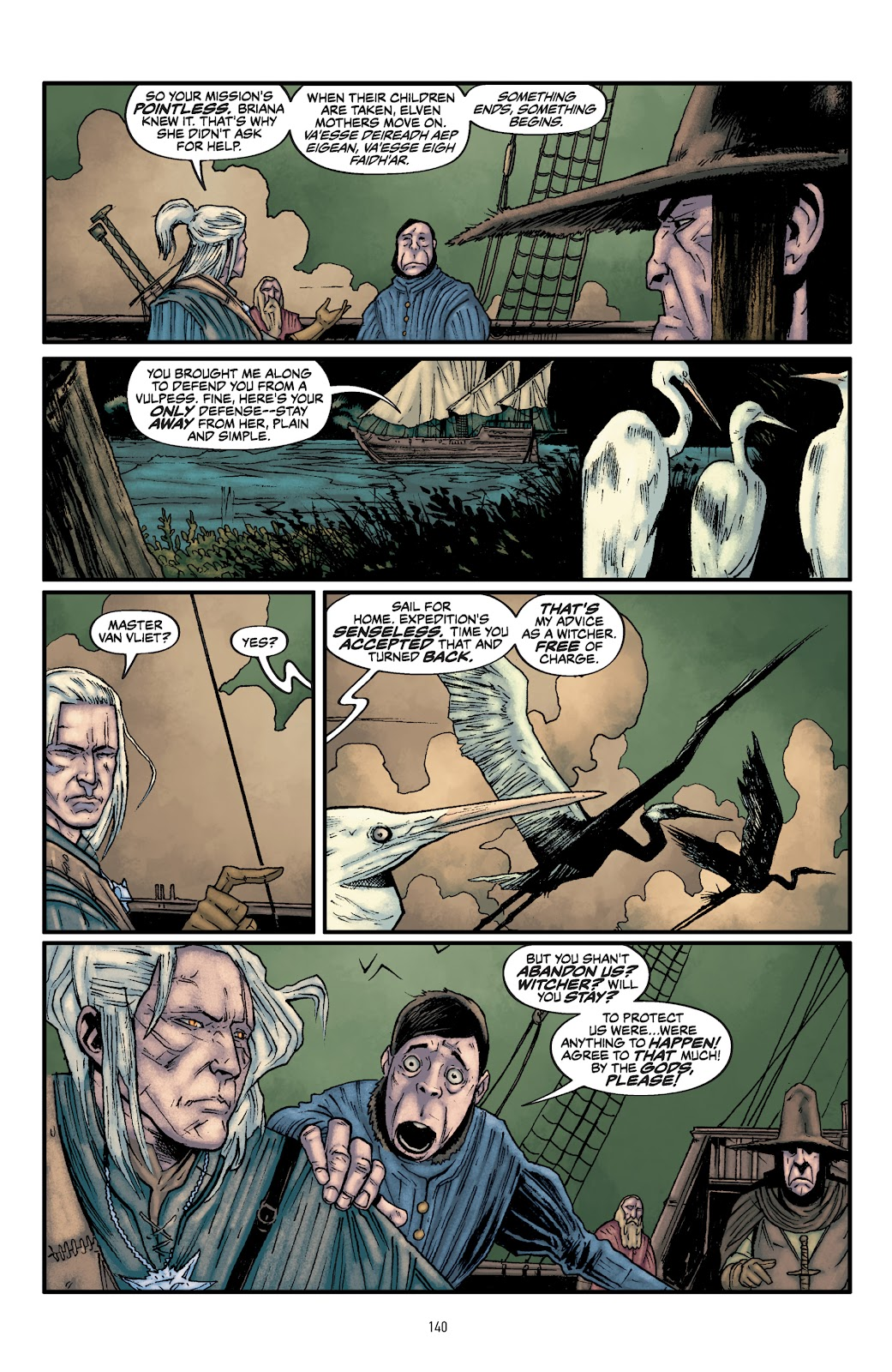 Read online The Witcher Omnibus comic -  Issue # TPB (Part 2) - 42
