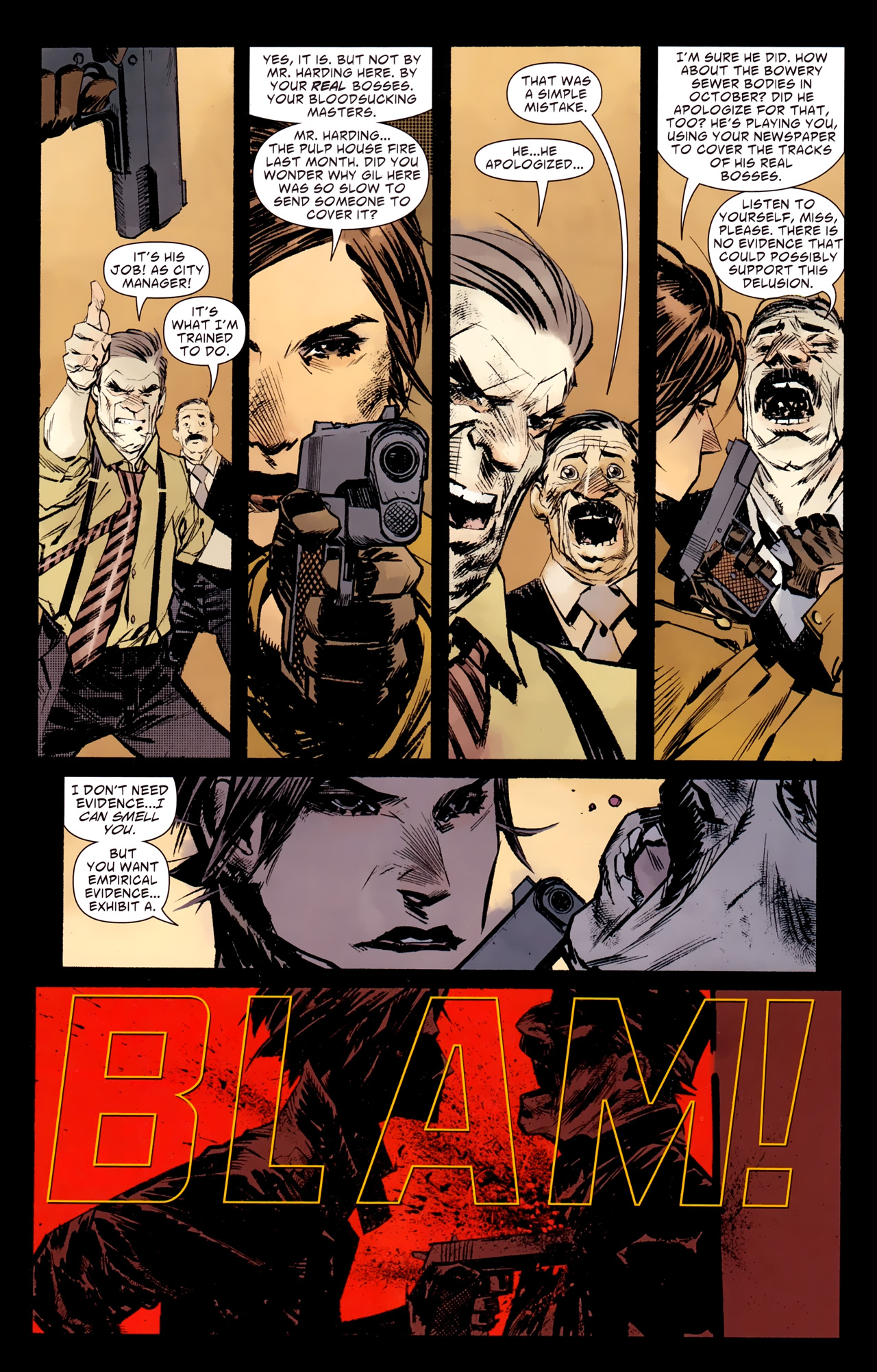Read online American Vampire: Survival of the Fittest comic -  Issue #1 - 7