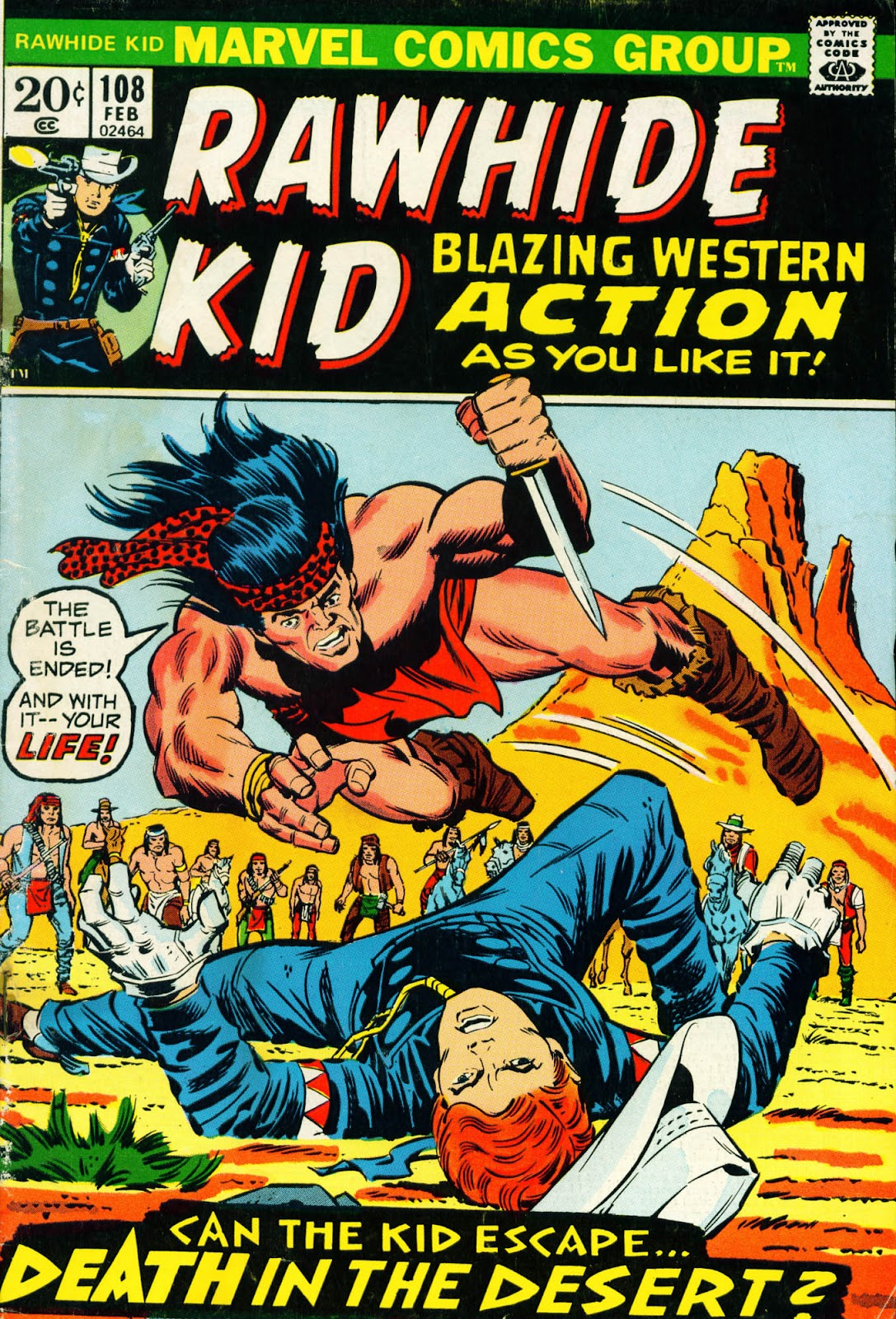 The Rawhide Kid (1955) issue 108 - Page 1