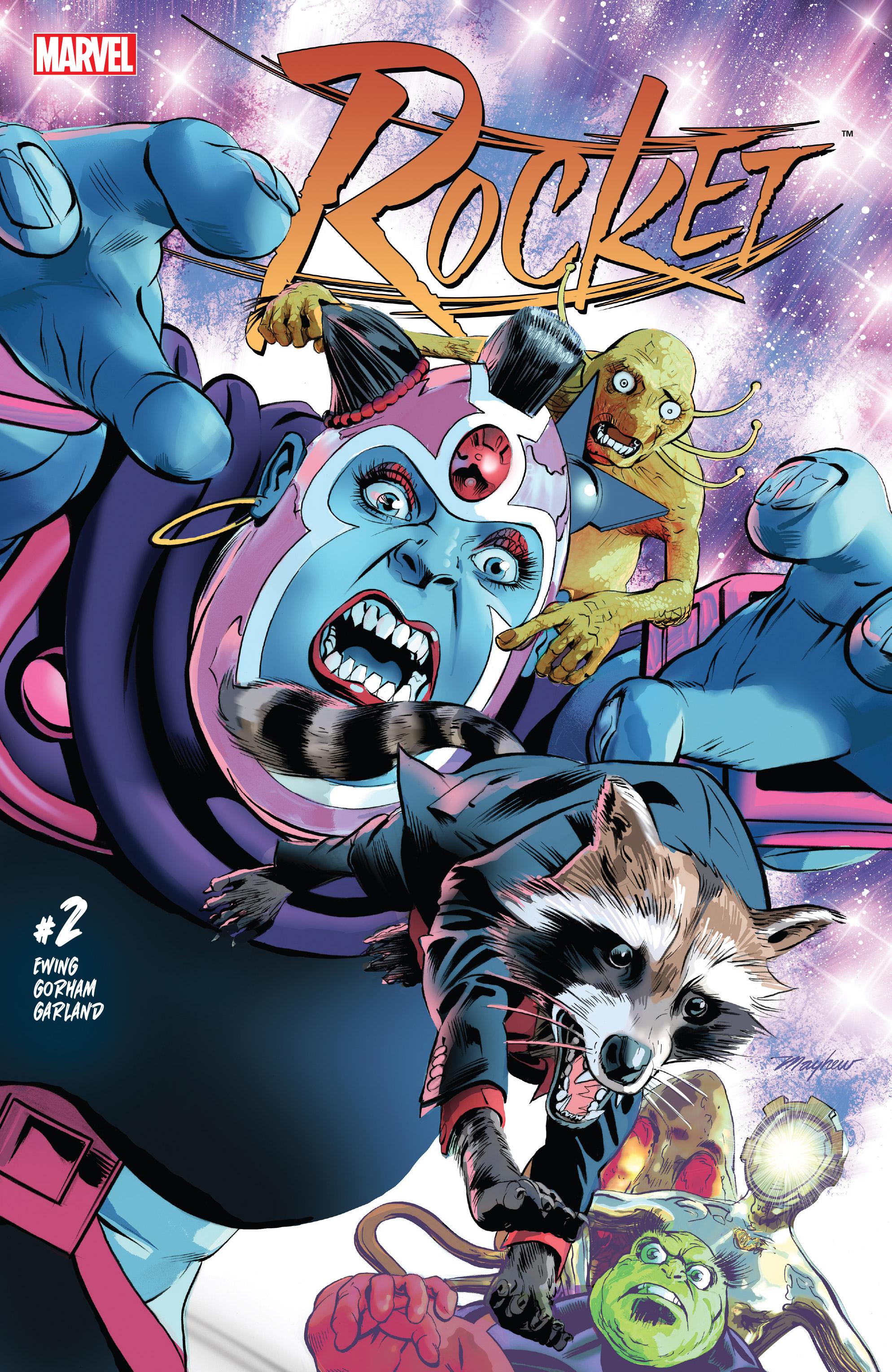 Read online Rocket comic -  Issue #2 - 1