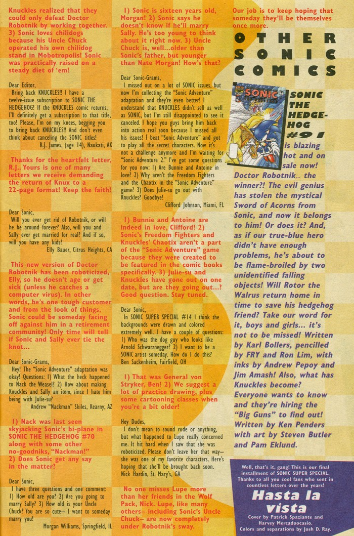 Read online Sonic Super Special comic -  Issue #15 - Naugus games - 39