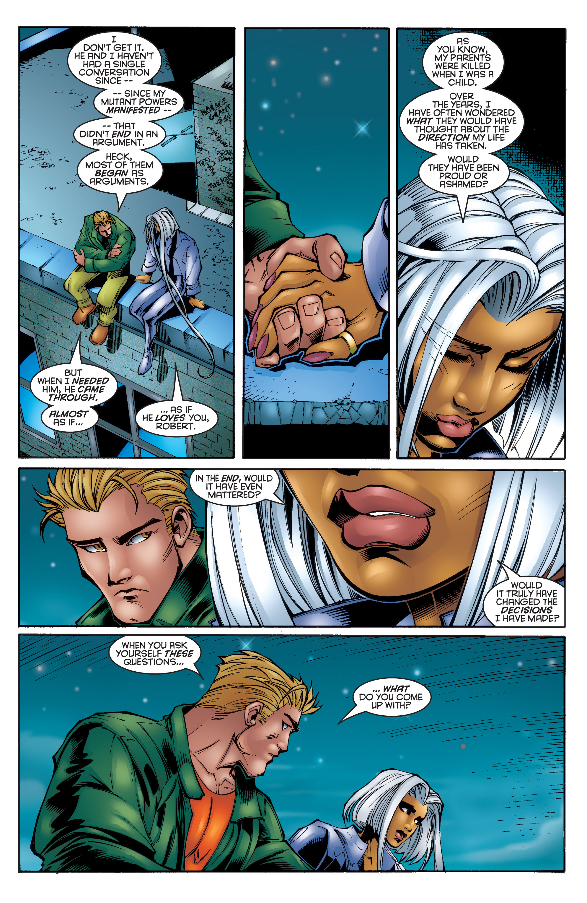 Read online Uncanny X-Men (1963) comic -  Issue #340 - 19