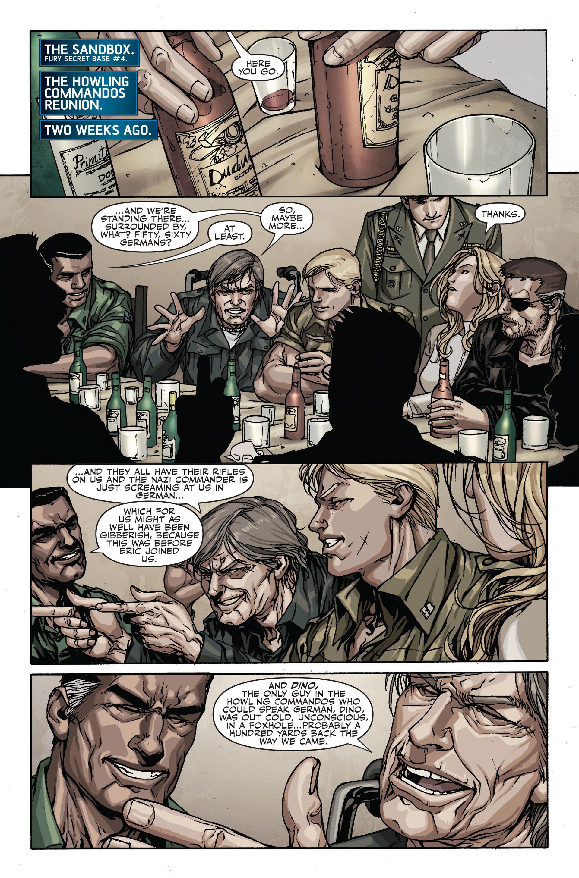 Read online Secret Warriors comic -  Issue #18 - 10