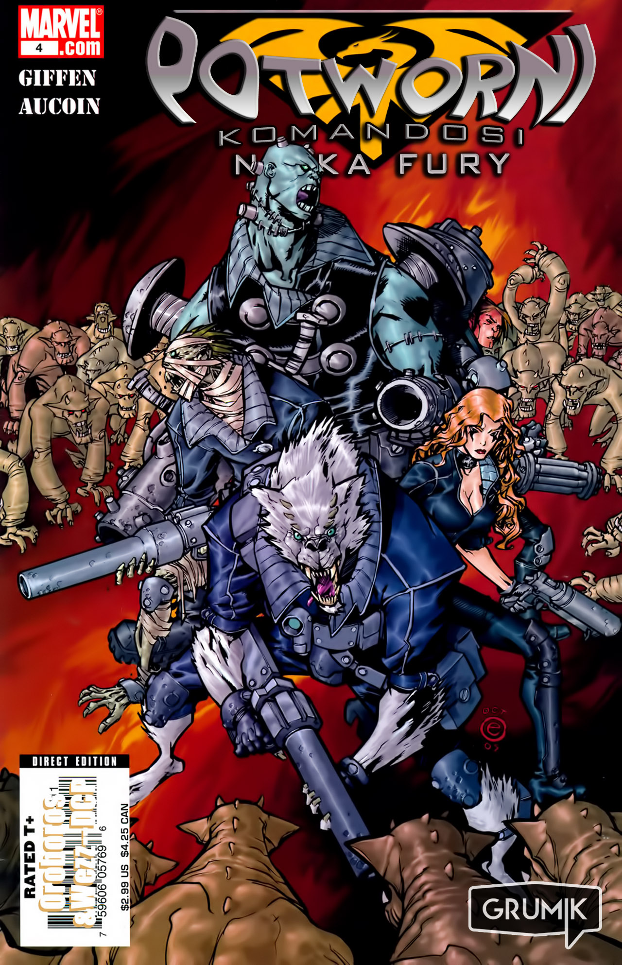Read online Nick Fury's Howling Commandos comic -  Issue #4 - 1