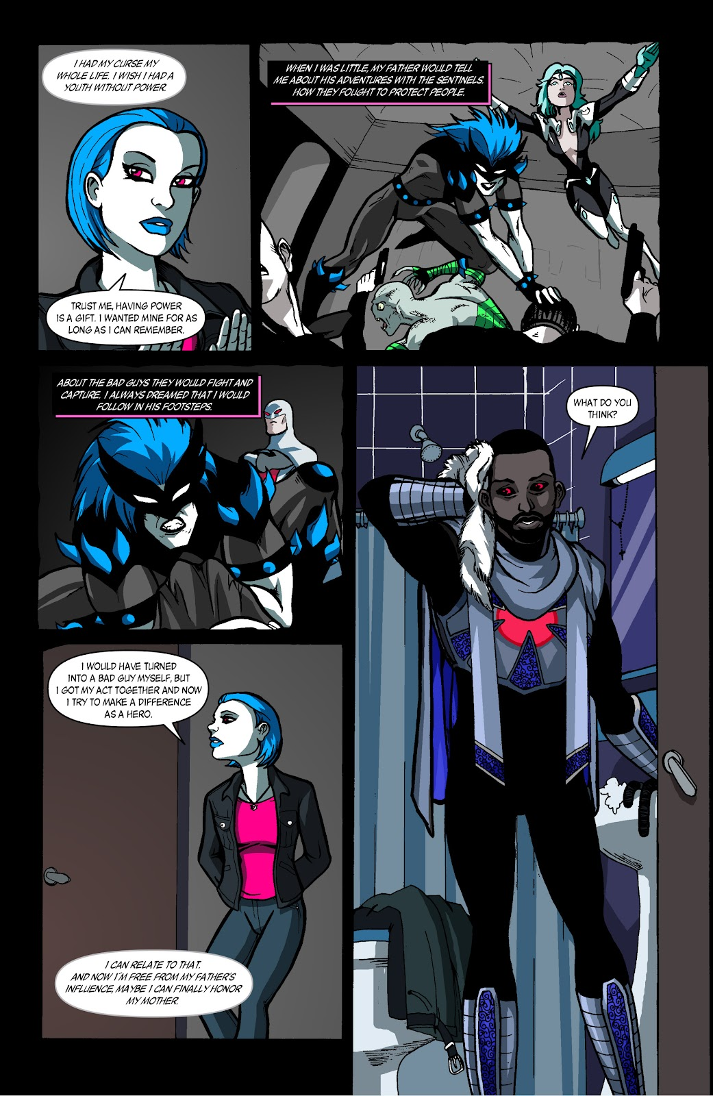 Sentinels issue 4 - Page 17