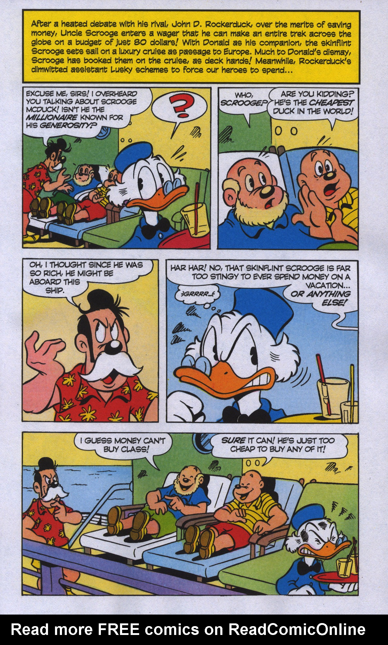 Read online Uncle Scrooge (1953) comic -  Issue #389 - 4