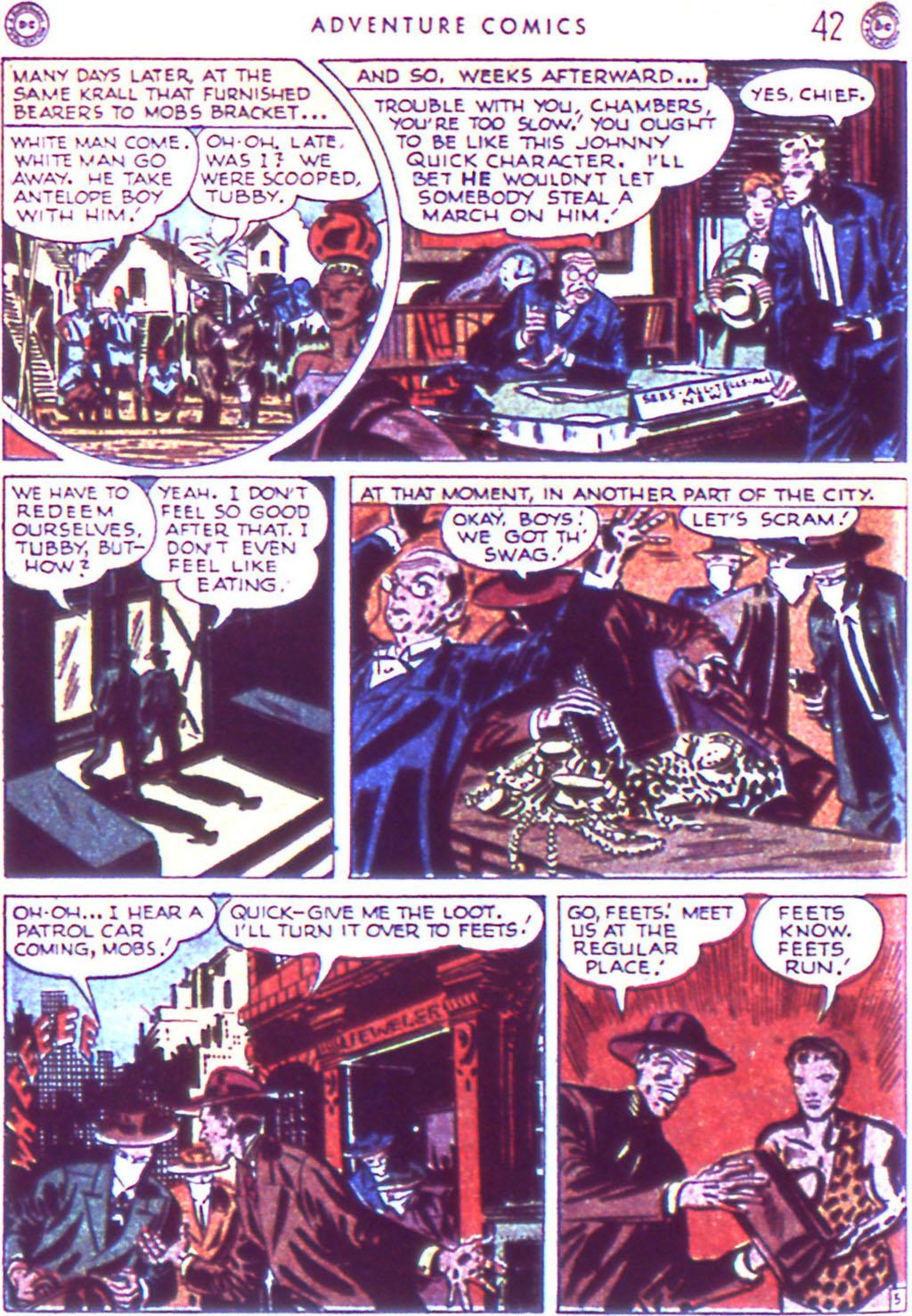 Read online Adventure Comics (1938) comic -  Issue #123 - 44
