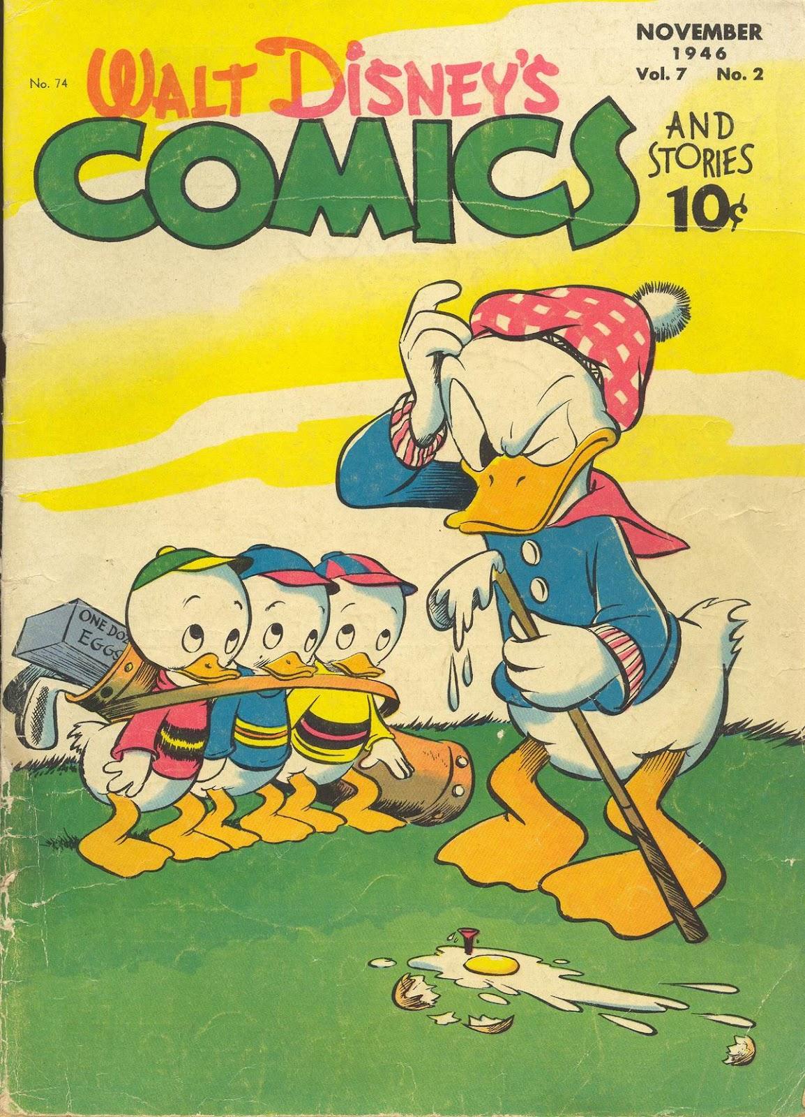 Walt Disneys Comics and Stories 74 Page 1
