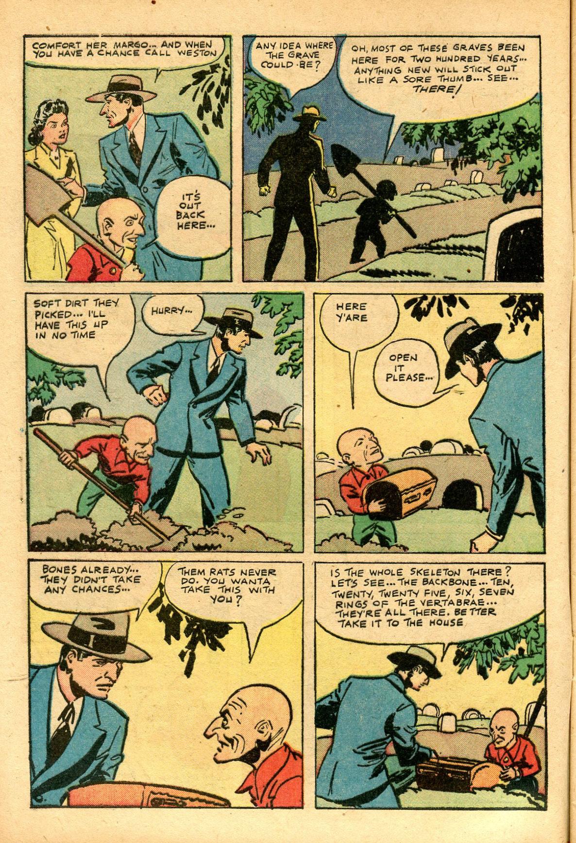 Read online Shadow Comics comic -  Issue #69 - 8