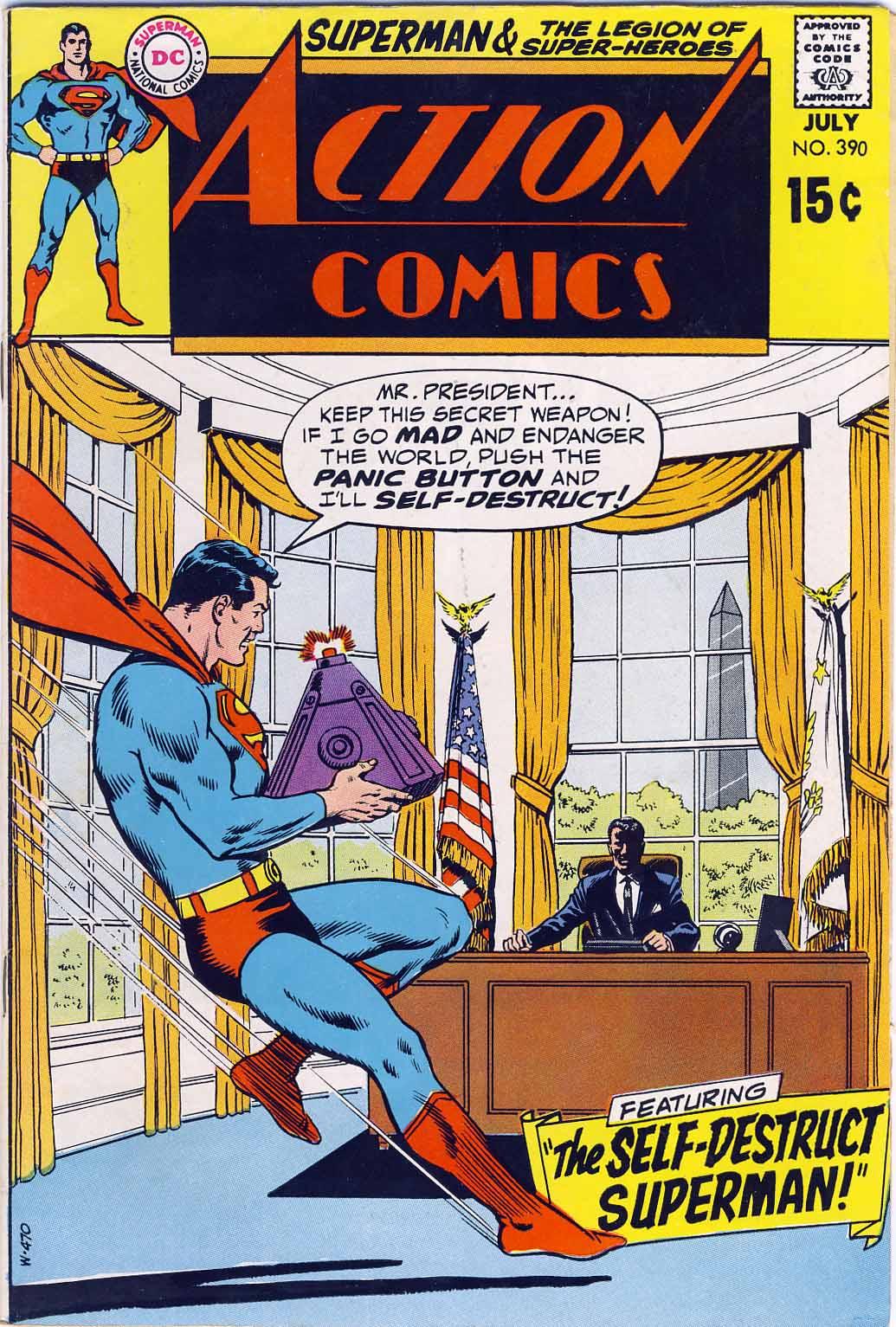 Action Comics (1938) 390 Page 0