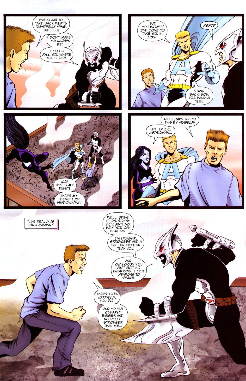 Read online ShadowHawk (2005) comic -  Issue #12 - 18